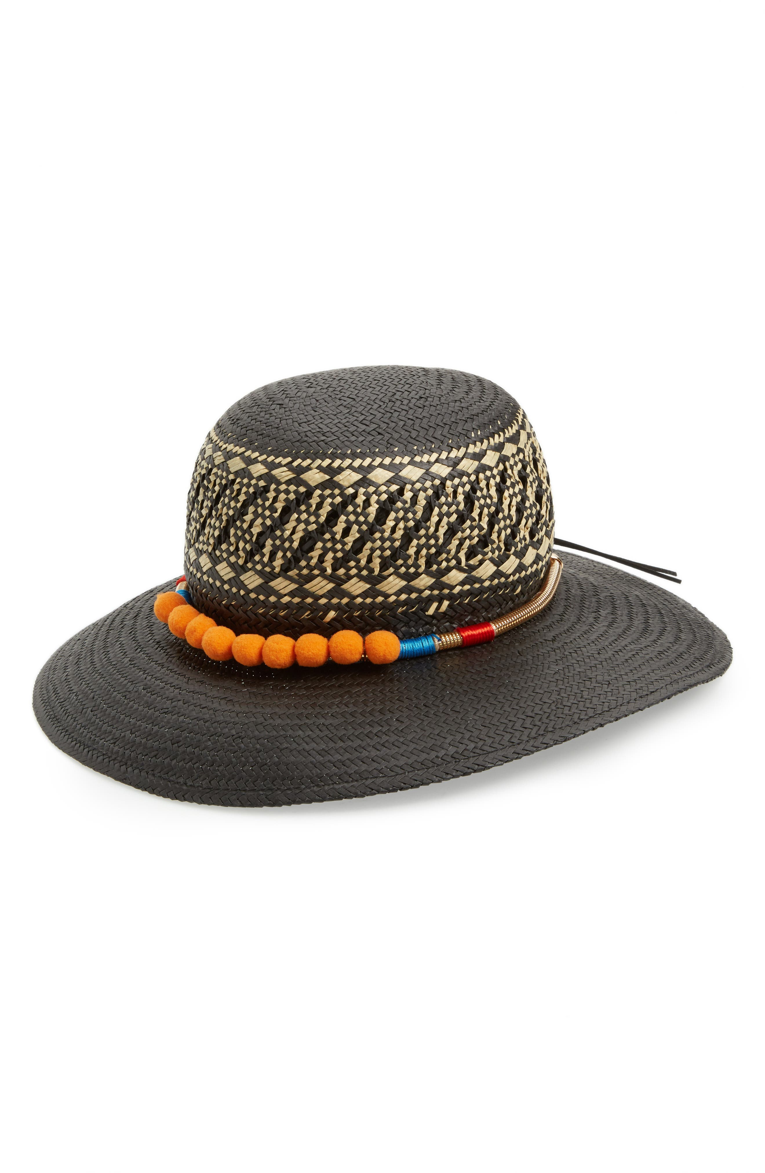 San Diego Hat Pompom Band Hat