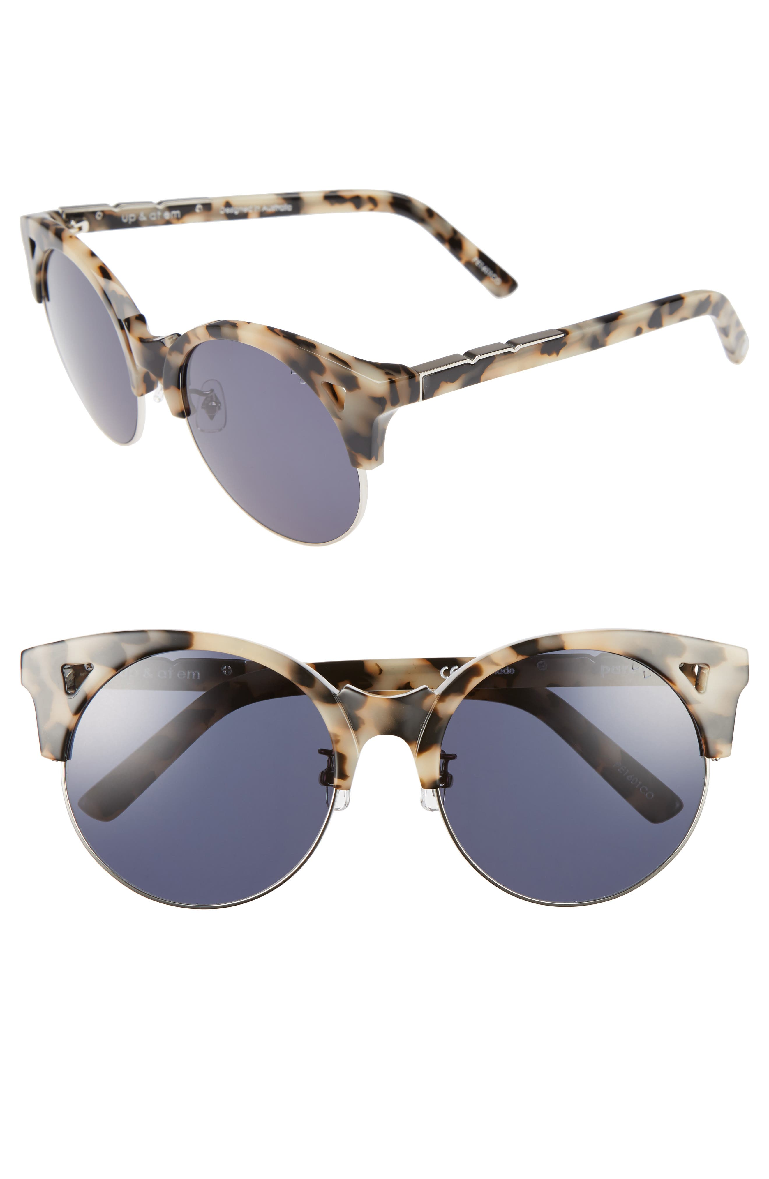 Pared Up & At Em 55mm Retro Sunglasses