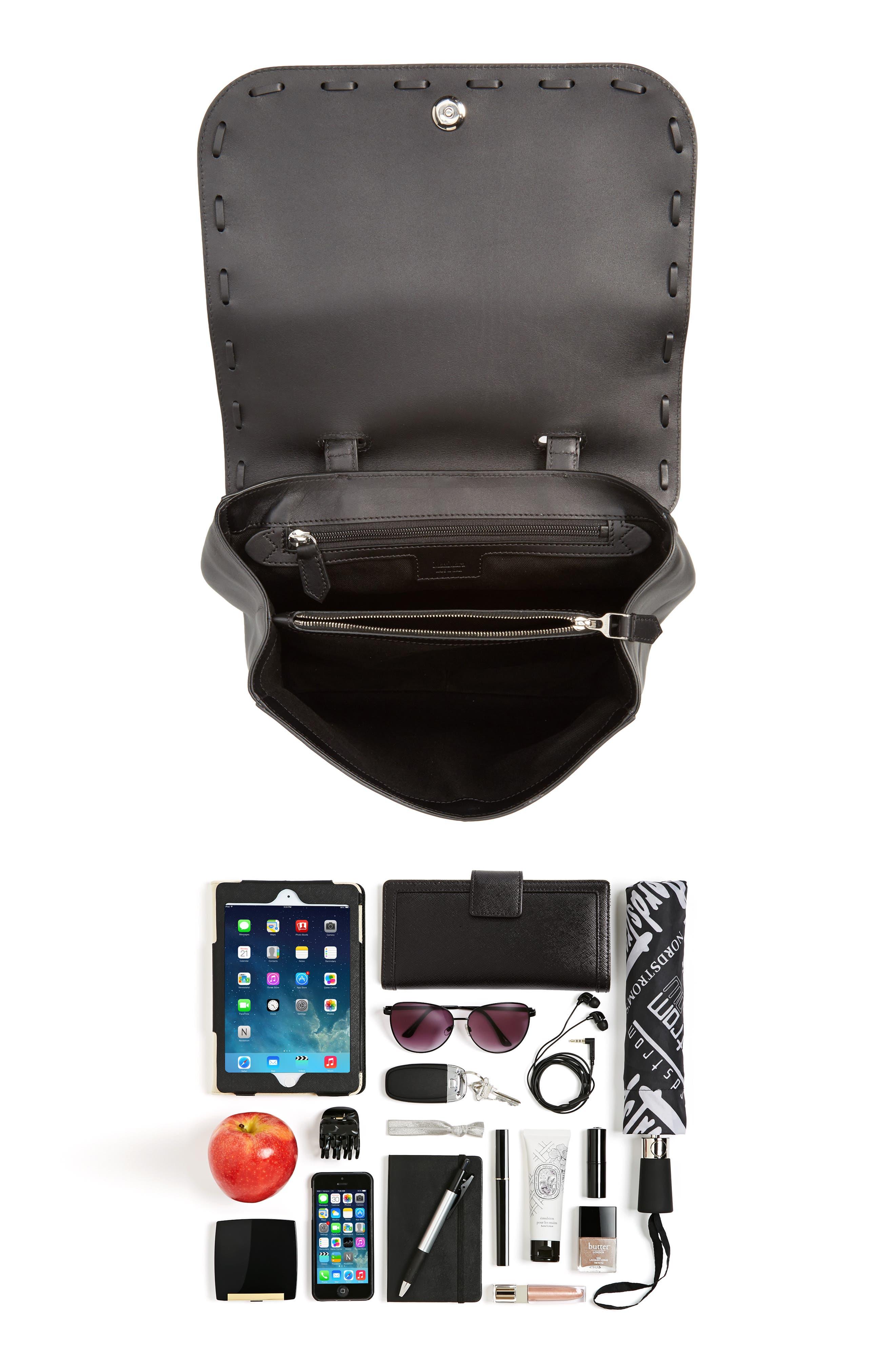 Alternate Image 7  - Max Mara BoBag Leather Satchel