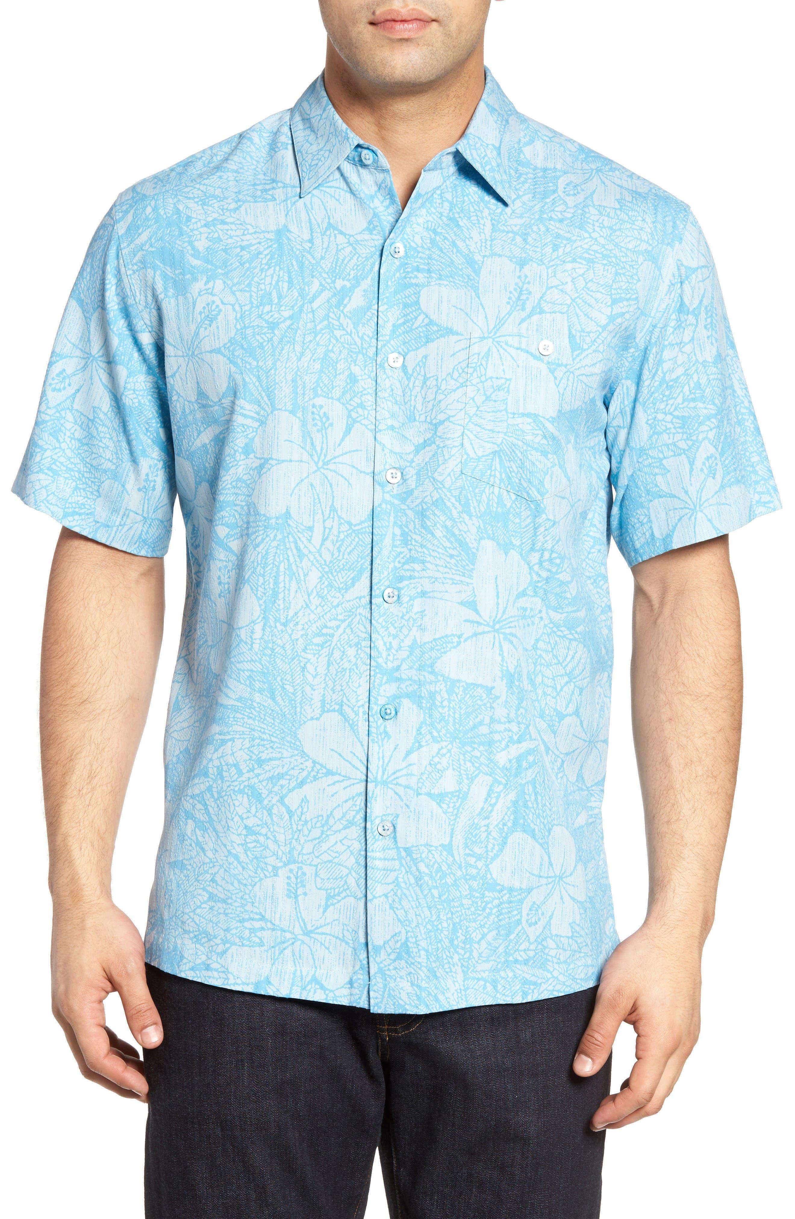 Tori Richard Incognito Silk Blend Camp Shirt