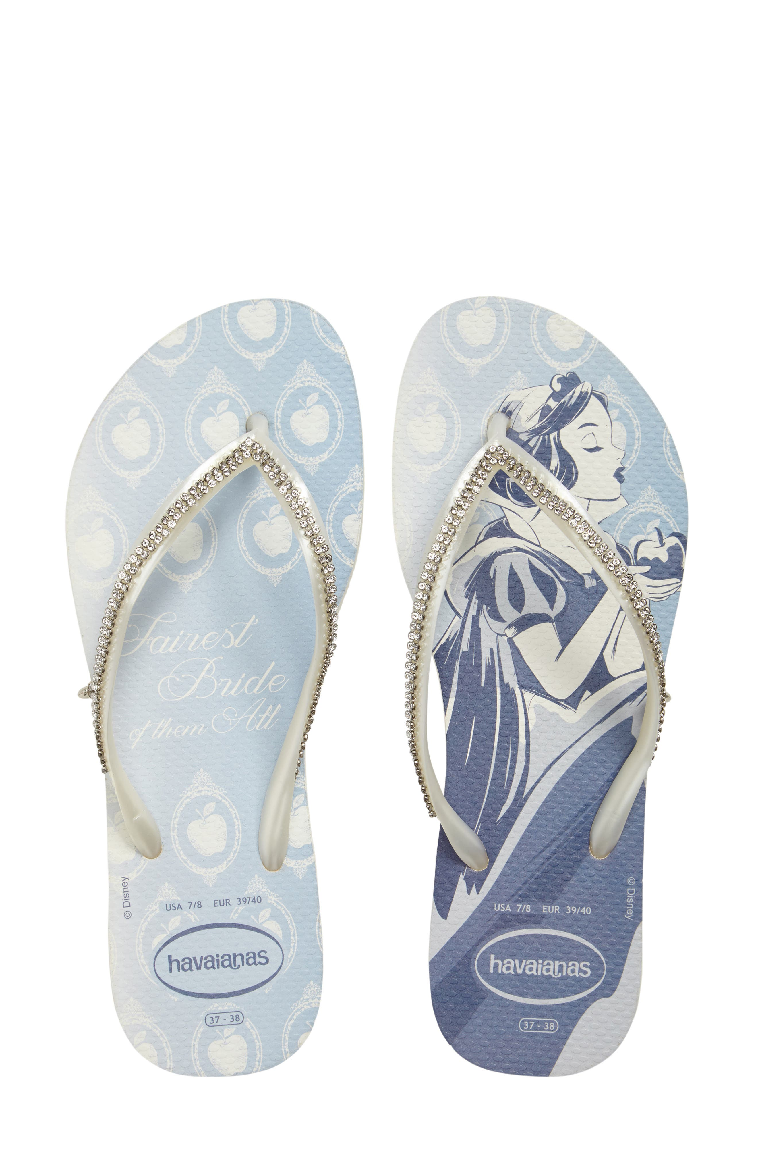 Havaianas Slim Disney Princess Crystal Flip Flop (Women)
