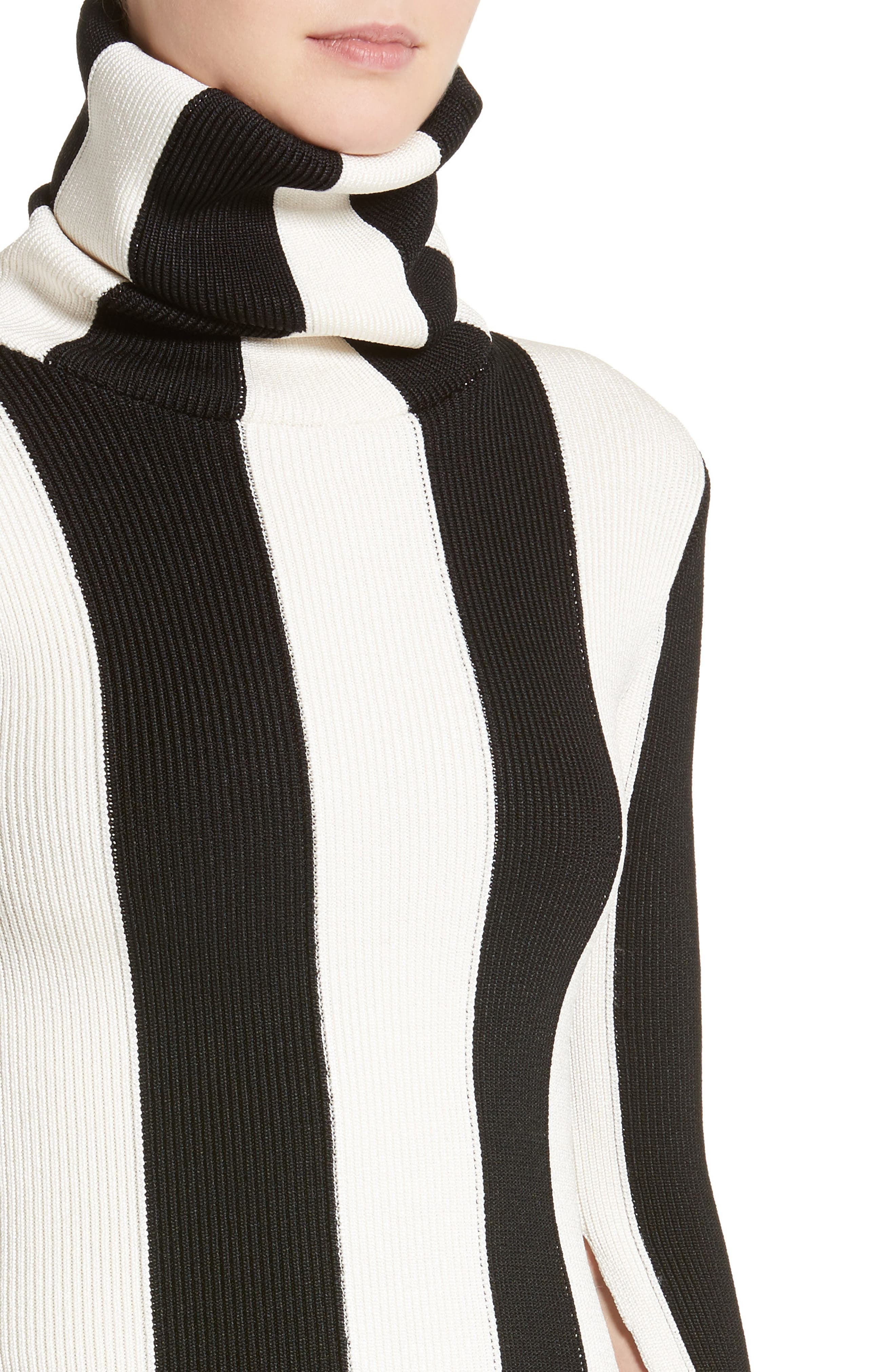 Alternate Image 6  - Monse Stripe Turtleneck