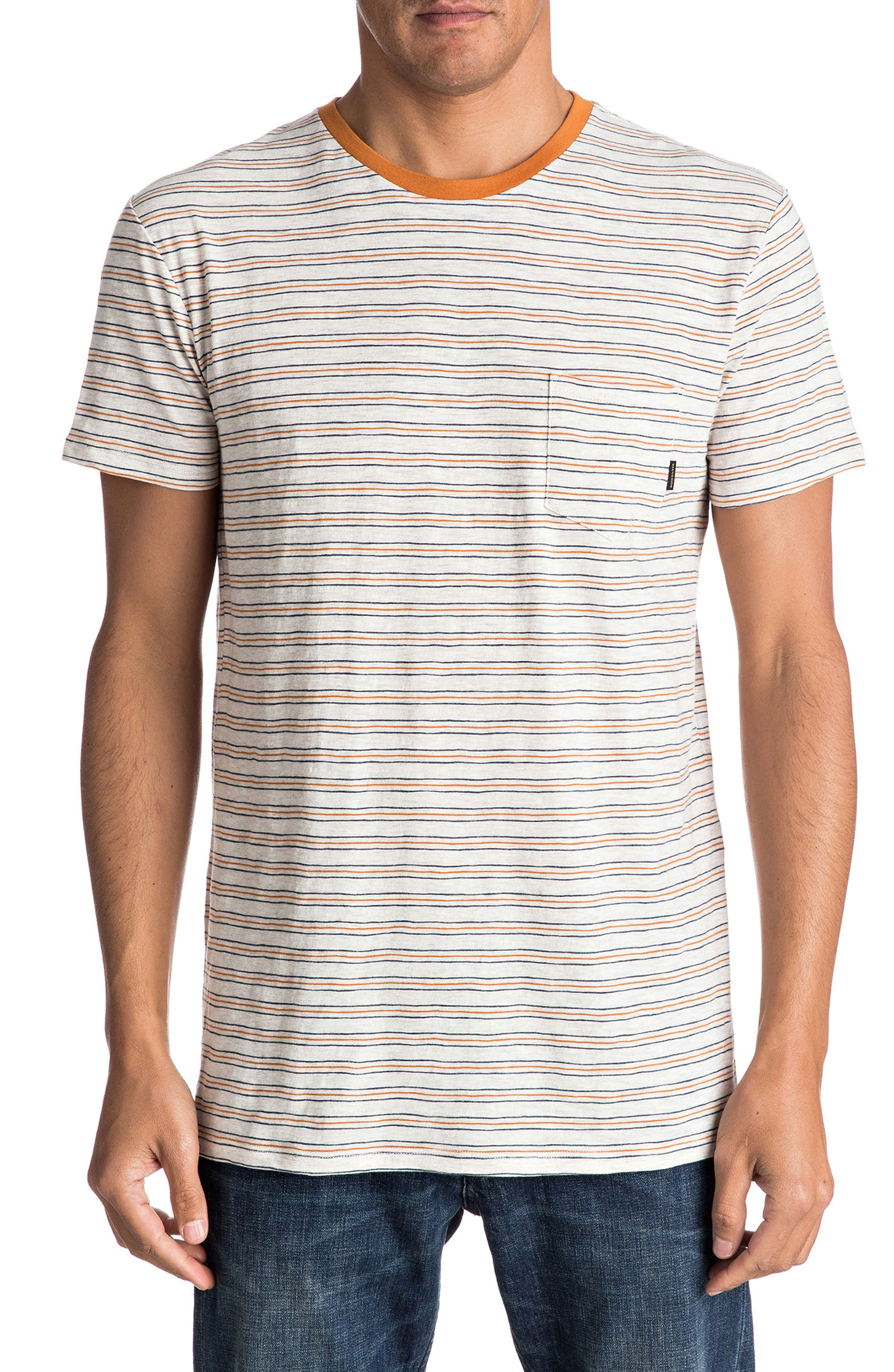Quiksilver Dumaran Stripe Pocket T-Shirt