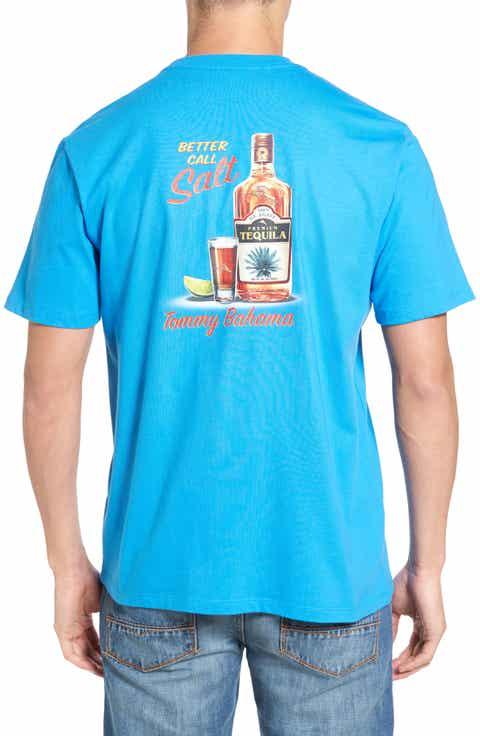 Tommy Bahama Better Call Salt Graphic T-Shirt (Big   Tall)
