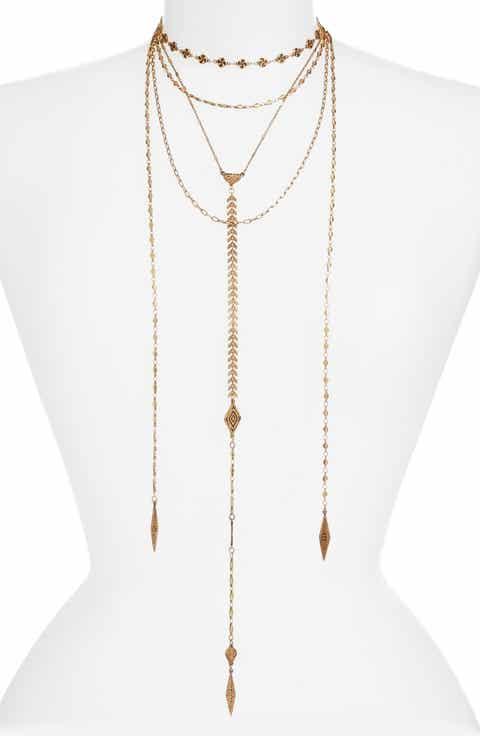 Treasure   Bond Convertible Multistrand Necklace
