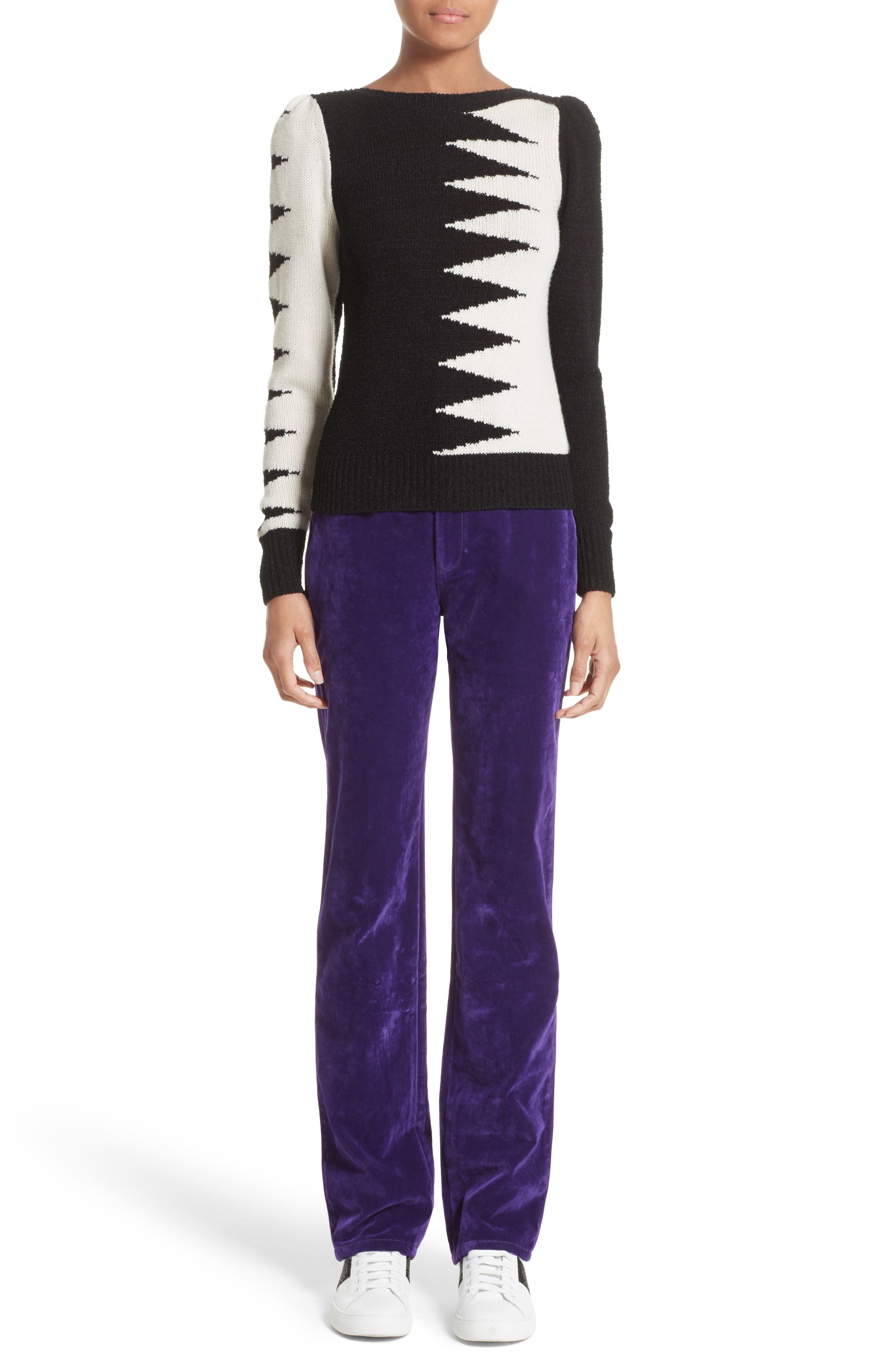 Alternate Image 6  - MARC JACOBS 40s Intarsia Sweater