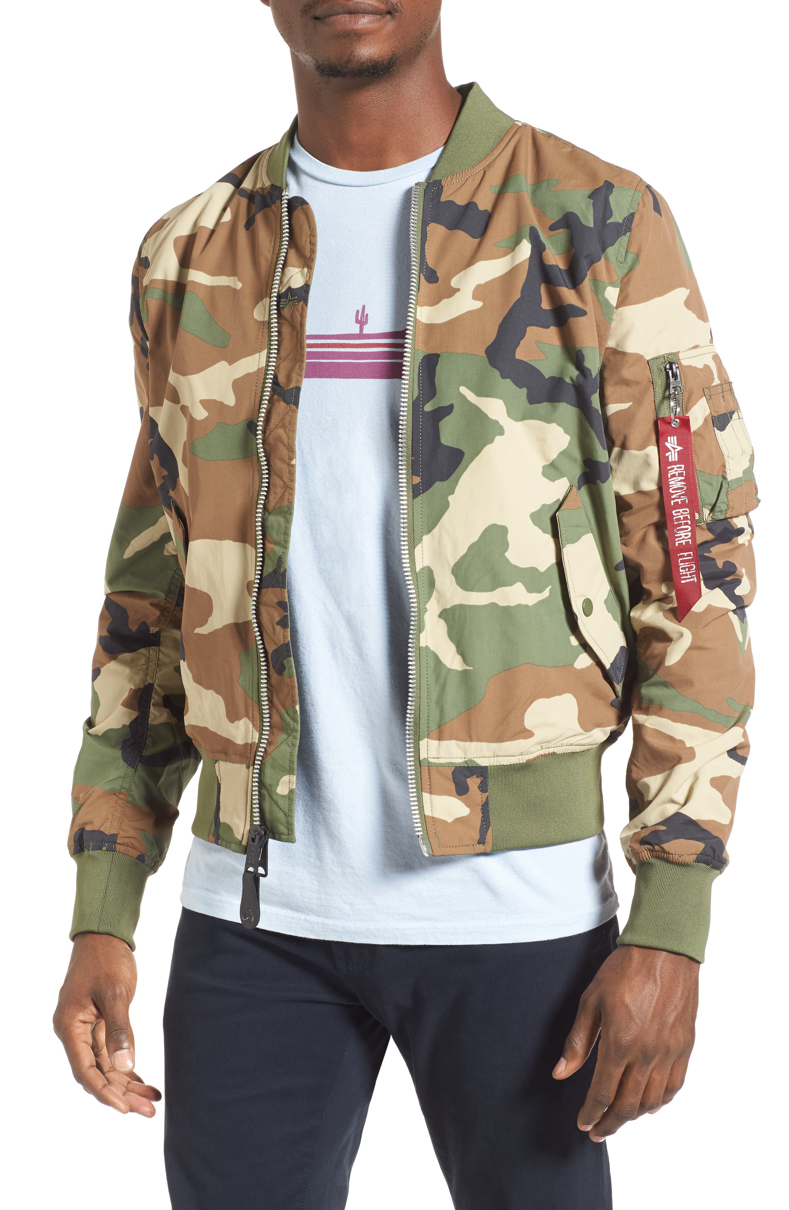 ALPHA INDUSTRIES 'L-2B - Dragonfly' Water Resistant Reversible