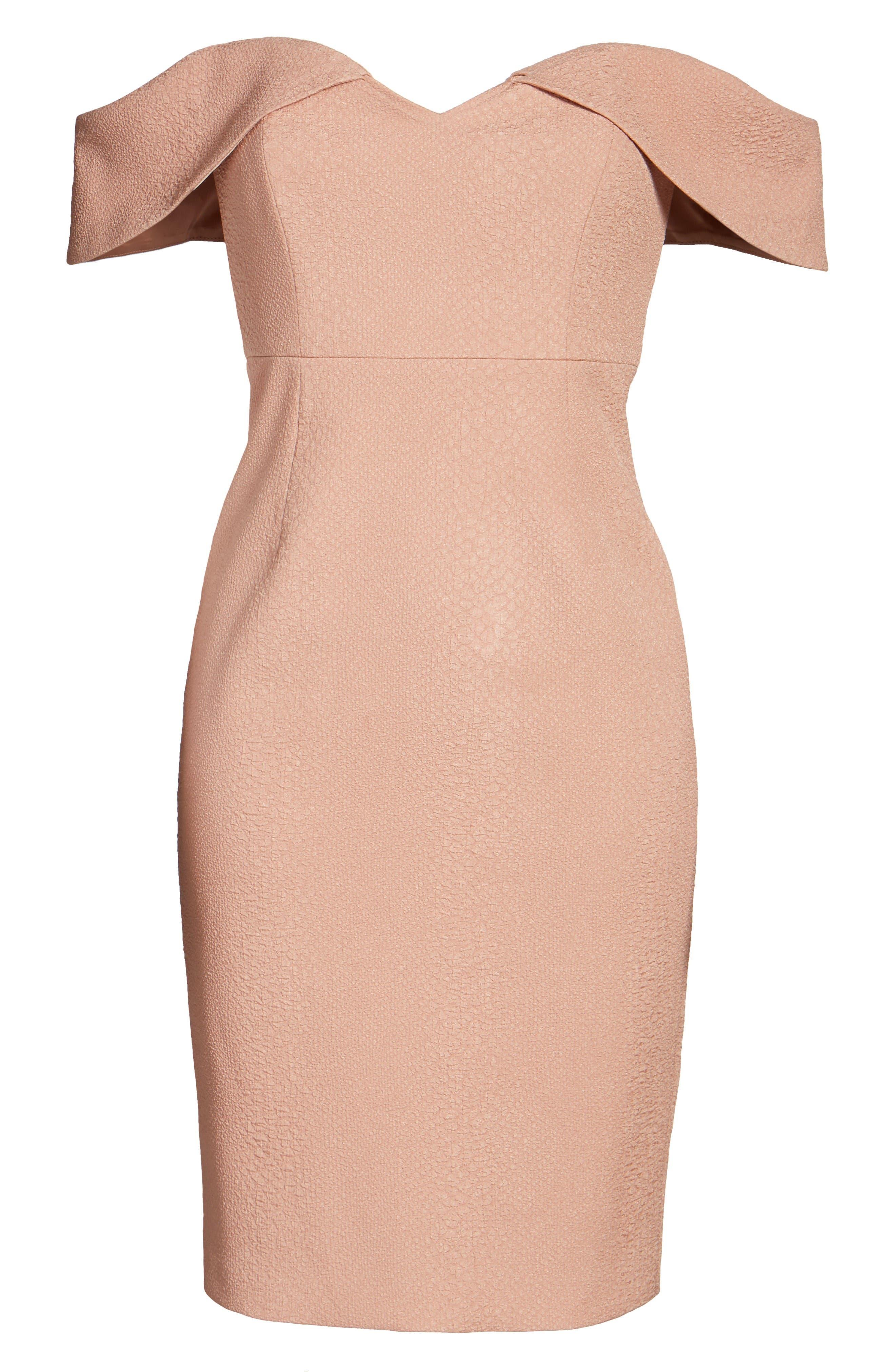 Alternate Image 8  - Bardot Eva Off the Shoulder Body-Con Dress
