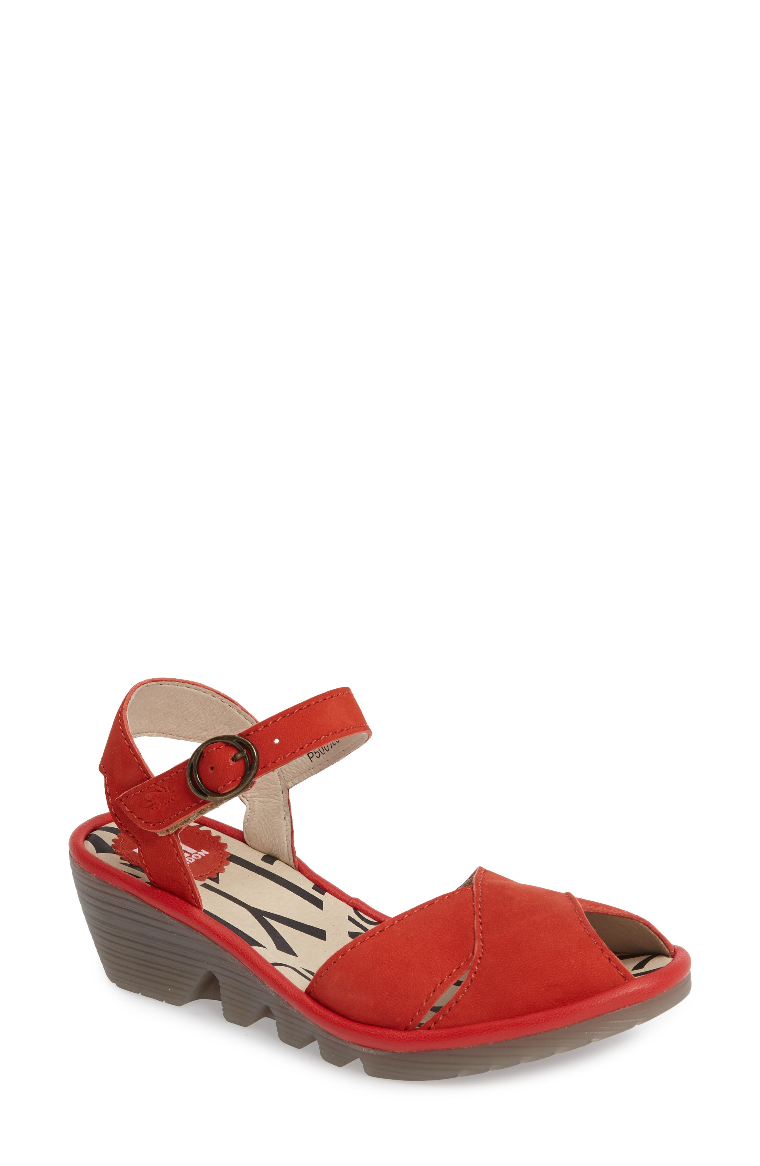 Fly London Pero Wedge Sandal (Women)