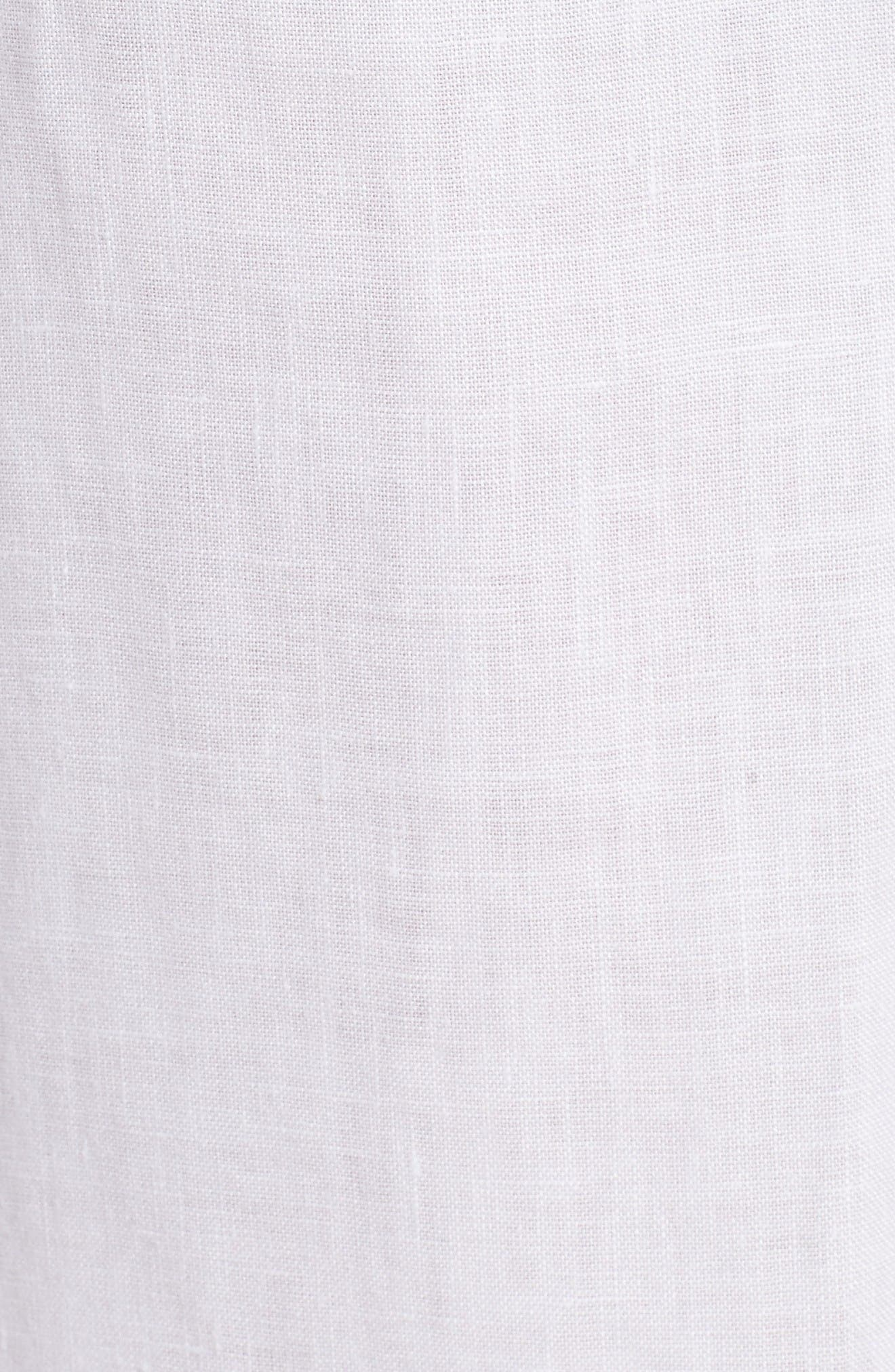 Alternate Image 5  - Eileen Fisher Organic Linen Crop Pants