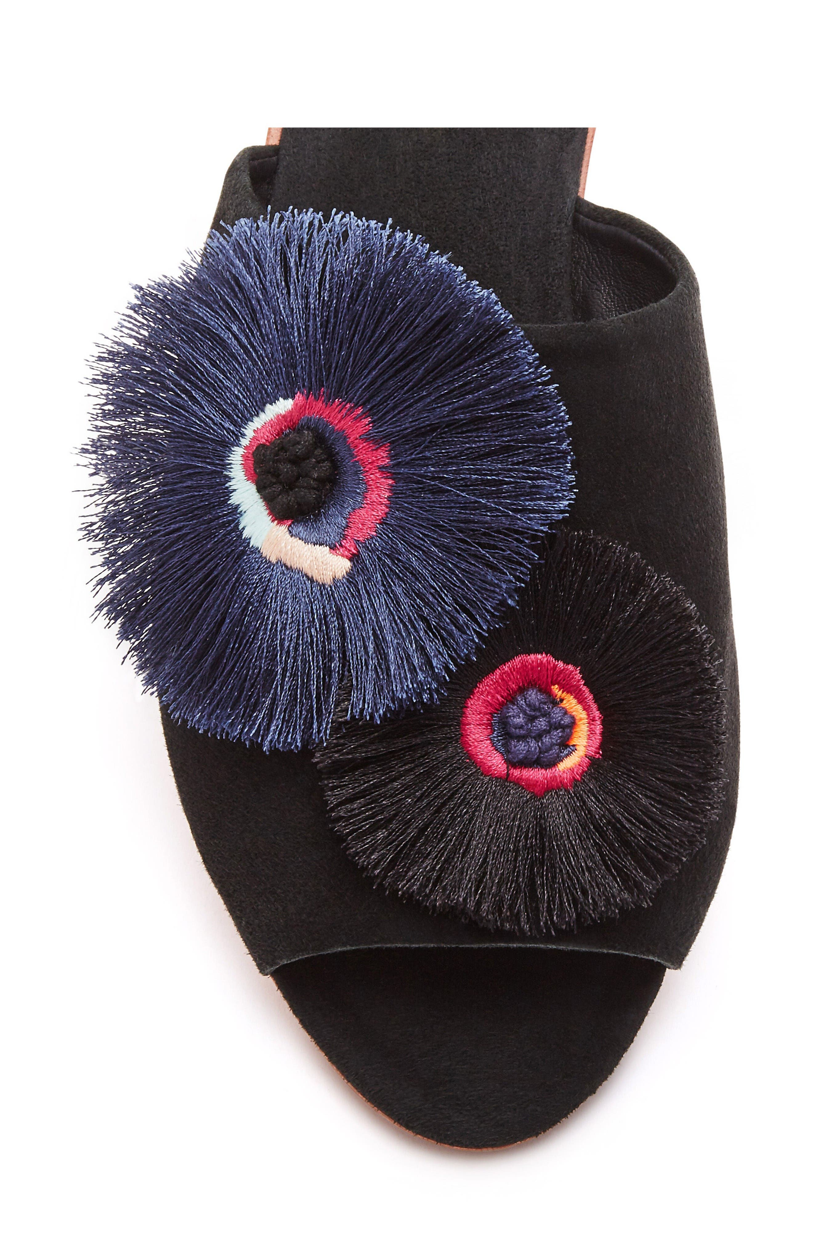 Alternate Image 3  - Loeffler Randall Kiki Flower Slide Sandal (Women)