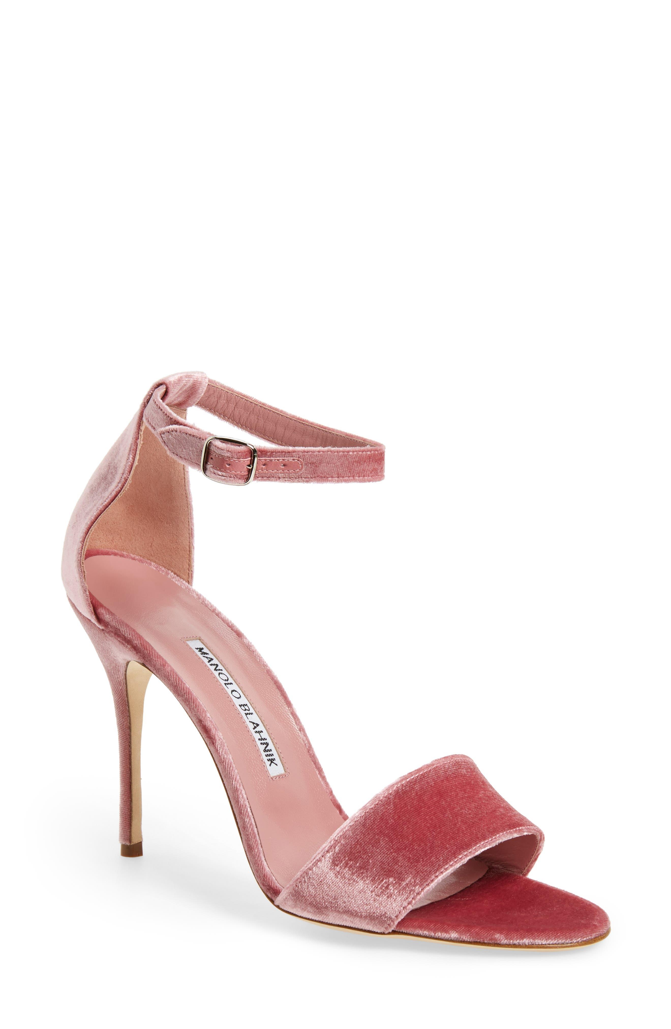 Manolo Blahnik Tres Sandal (Women)