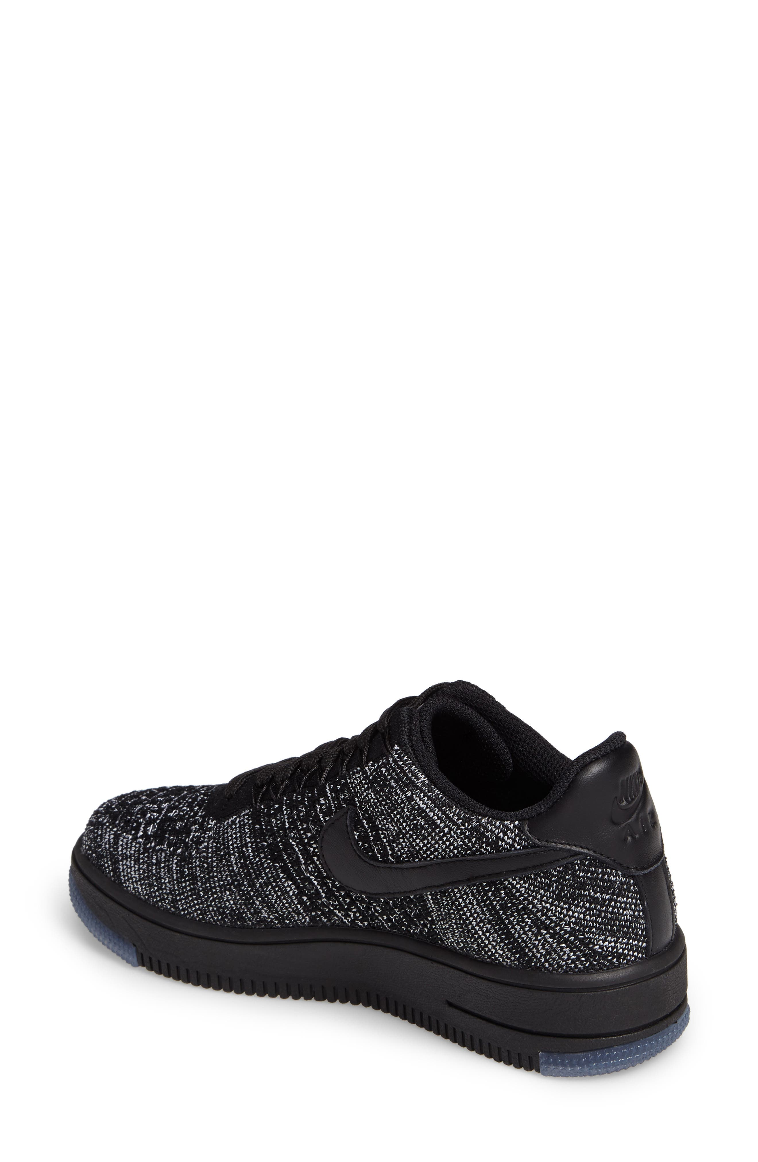 Alternate Image 2  - Nike 'Air Force 1 Flyknit Low' Sneaker (Women)