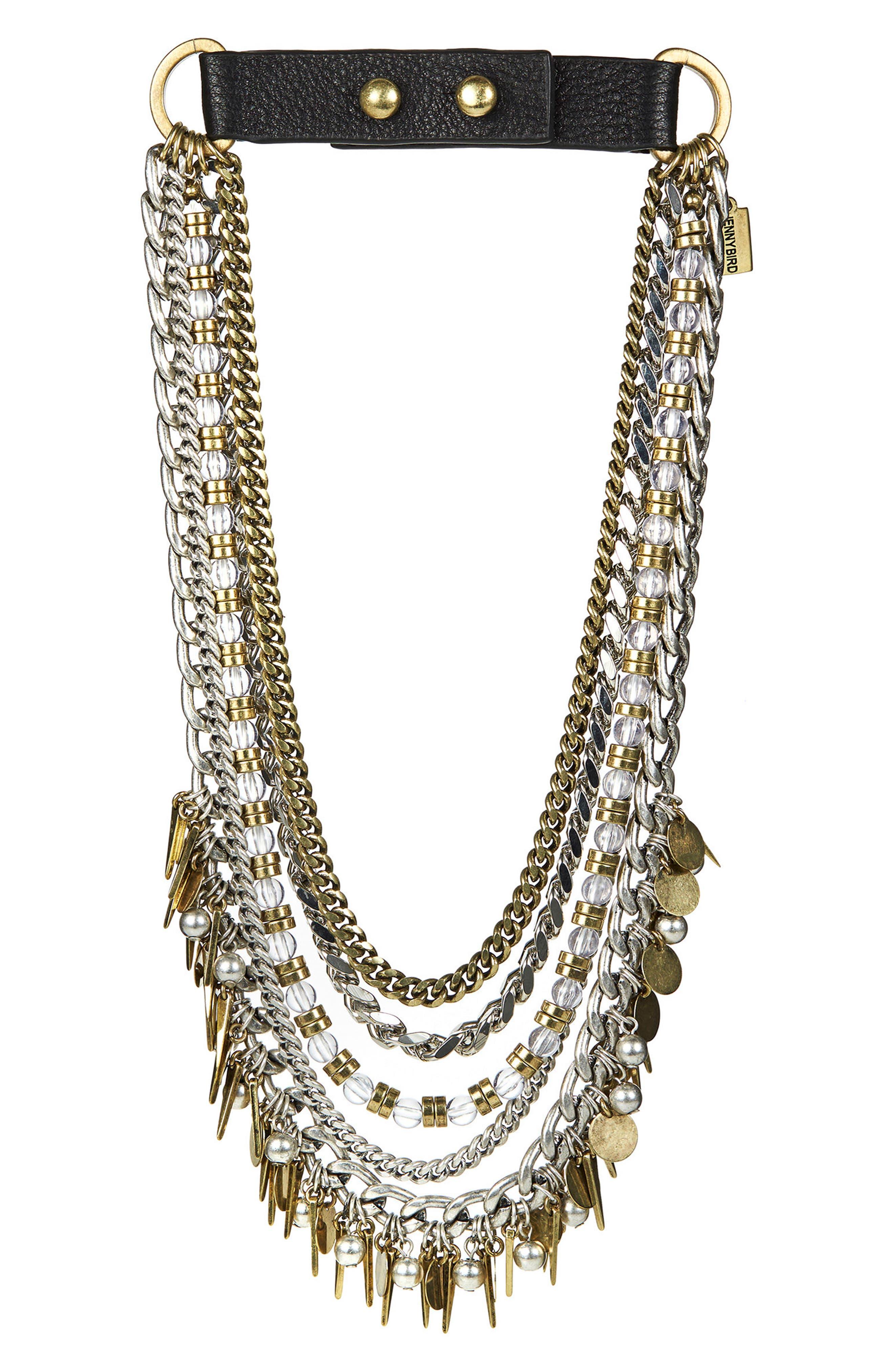 Alternate Image 5  - Jenny Bird Talitha Multistrand Collar Necklace