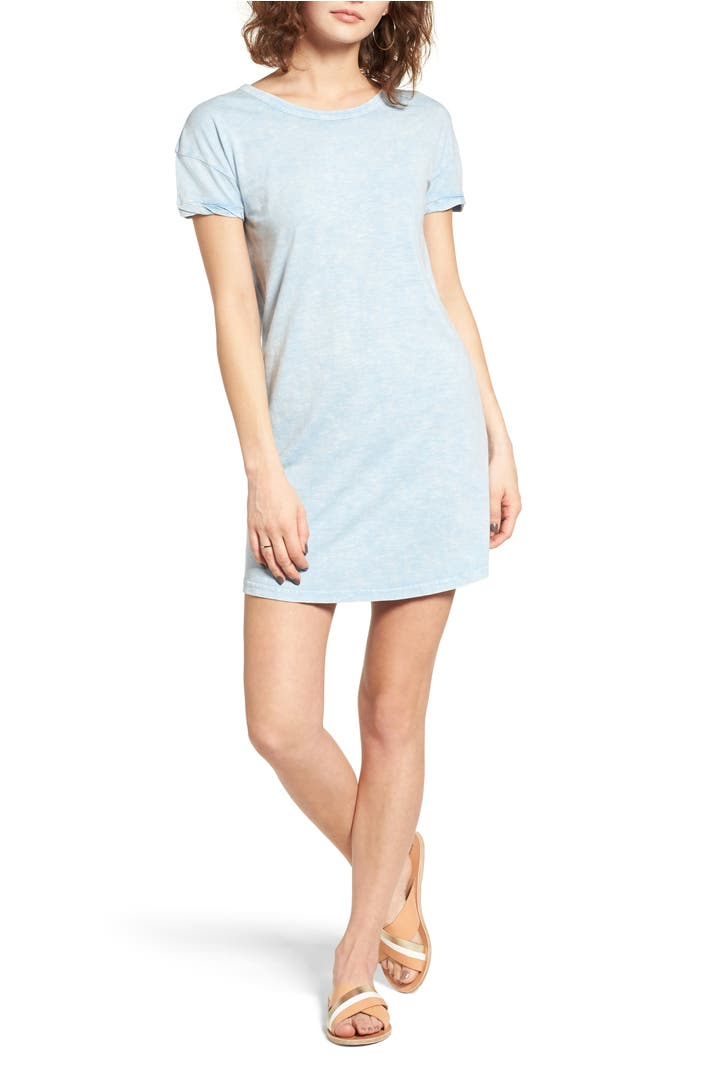 Rvca topped off open back t shirt dress nordstrom for Rvca t shirt dress
