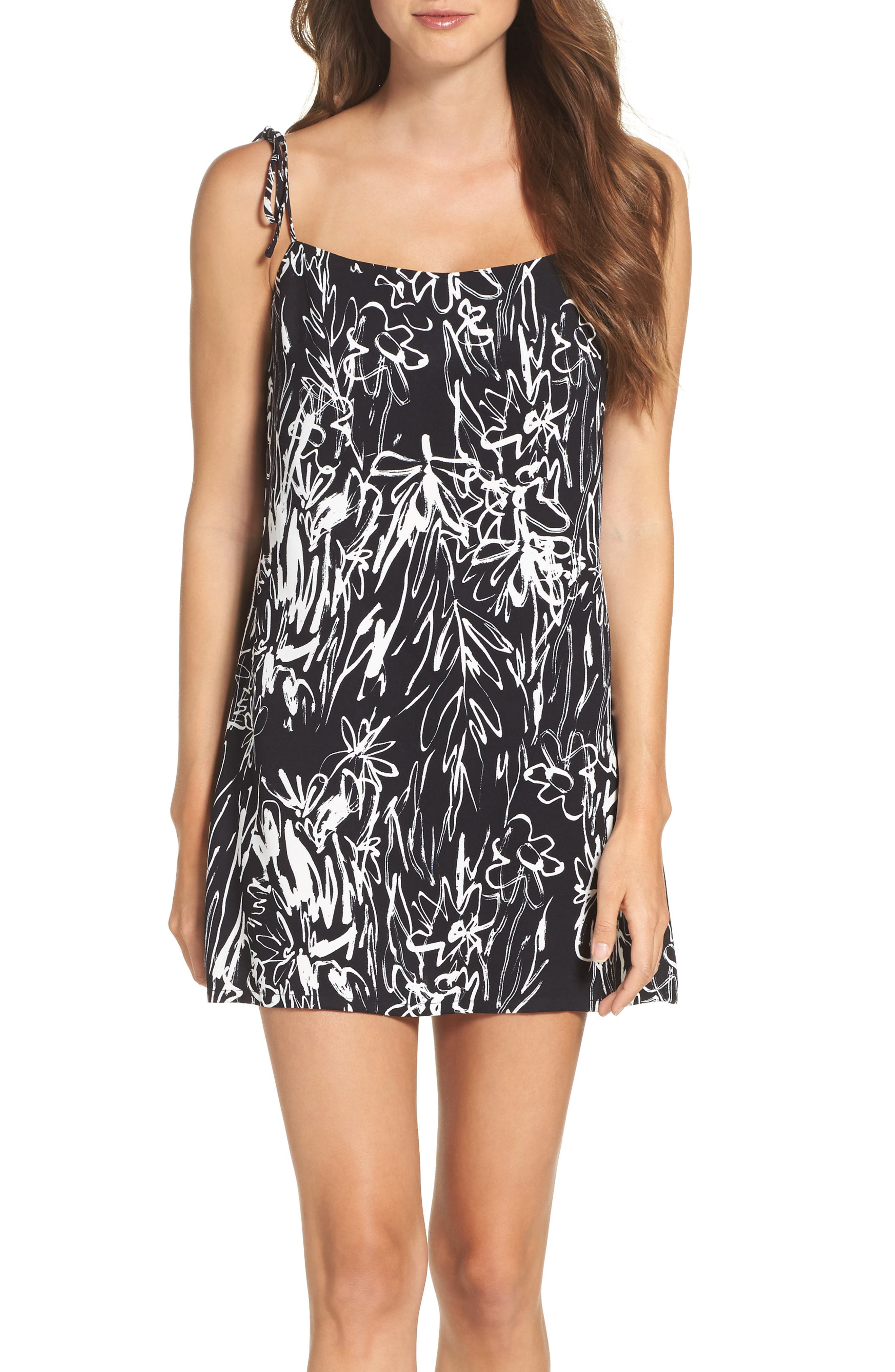 French Connection Copley Crepe Slipdress