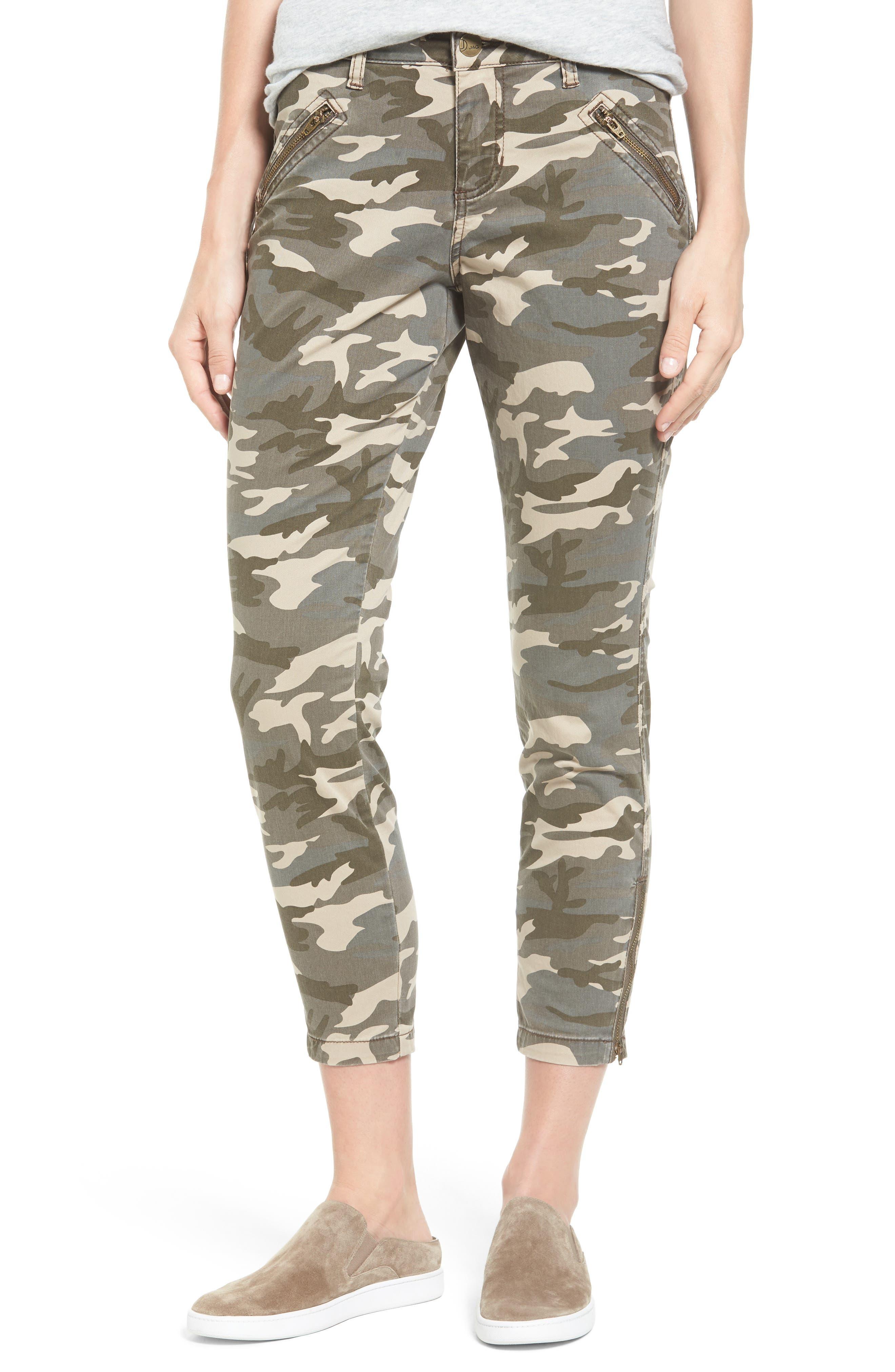 Jag Jeans Ryan Camo Skinny Pants