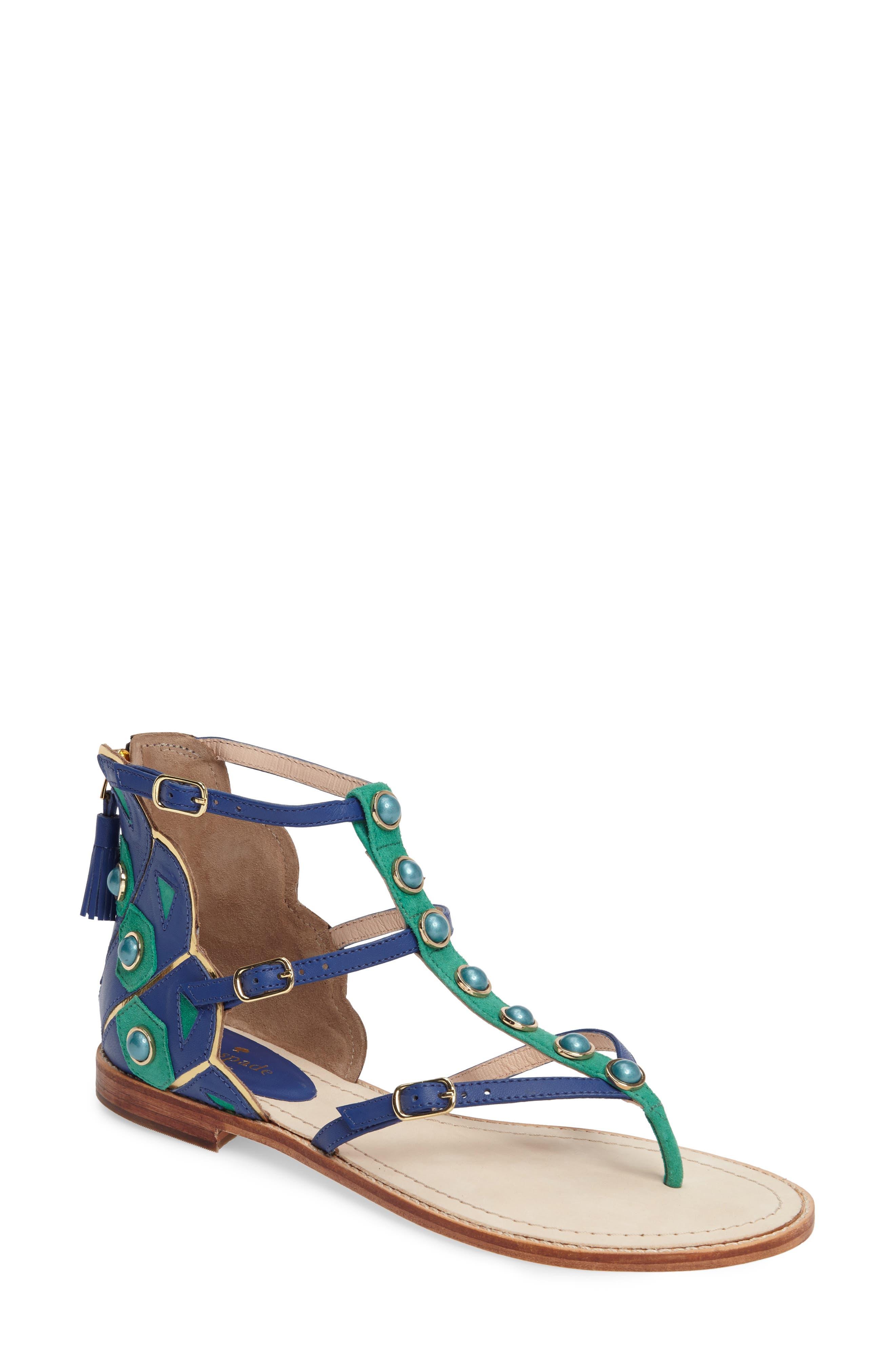 kate spade new york soto flat sandal (Women)