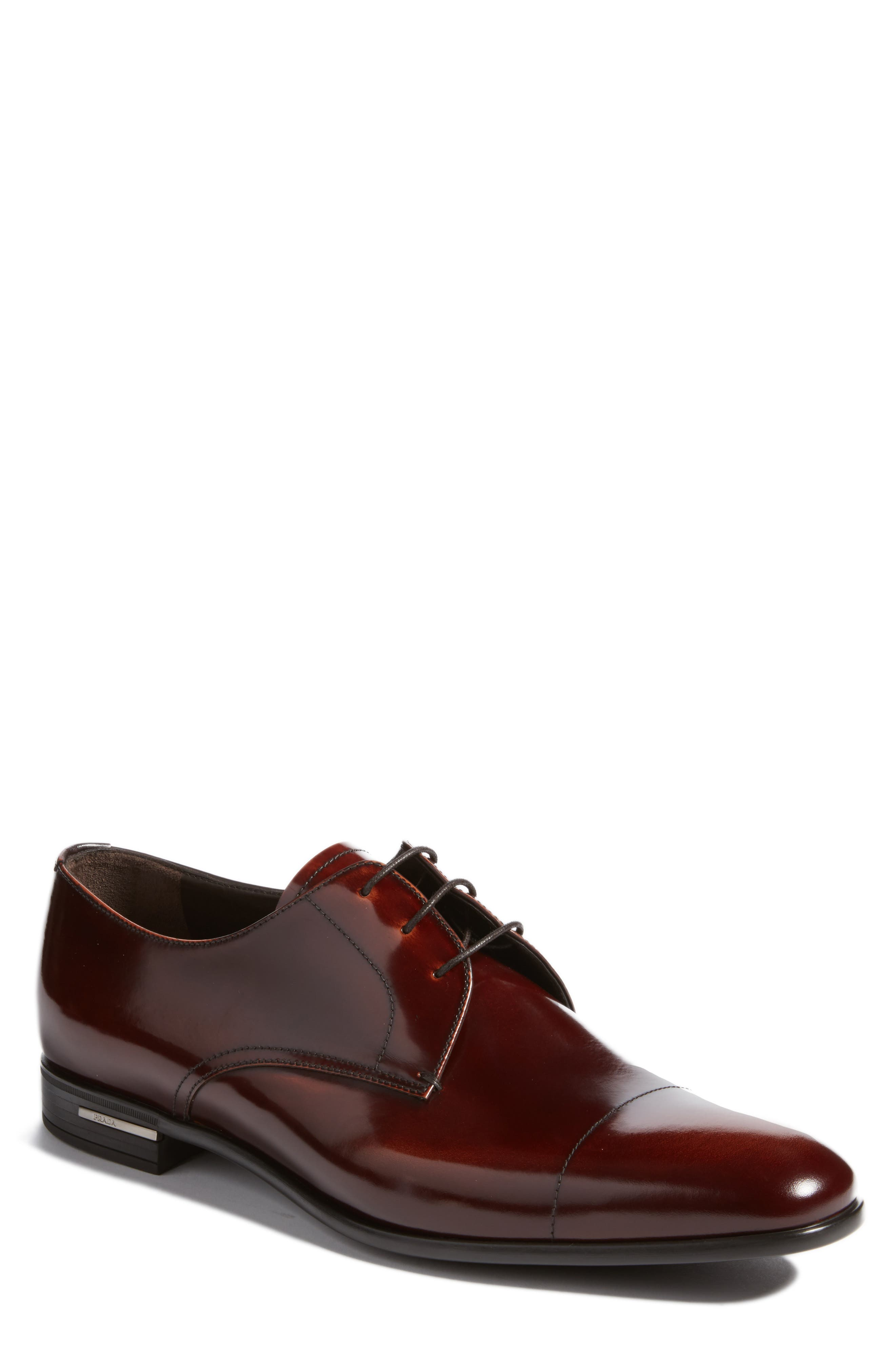 Prada Cap Toe Derby (Men)