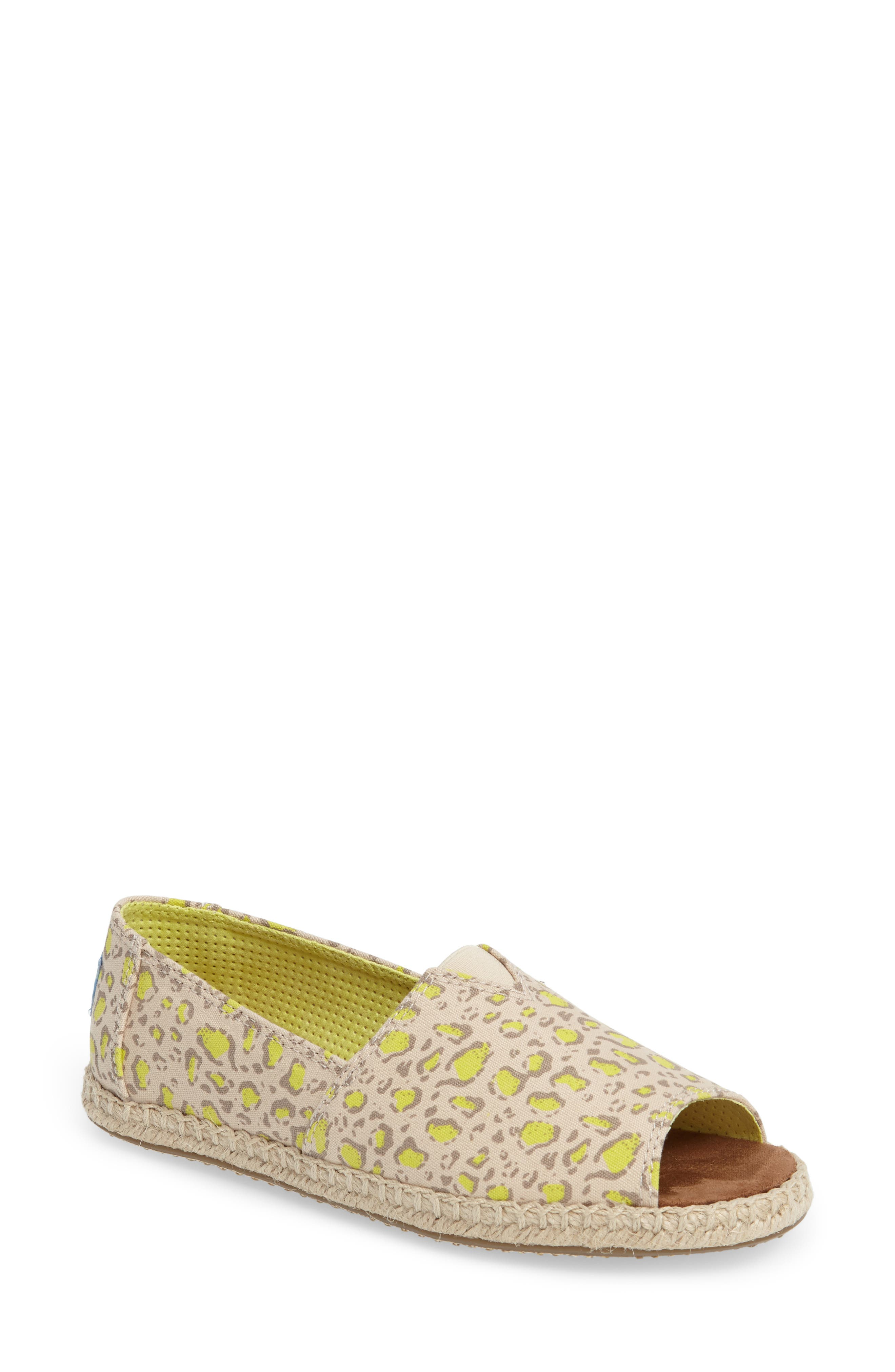 TOMS Alpargata Open-Toe Slip-On (Women)