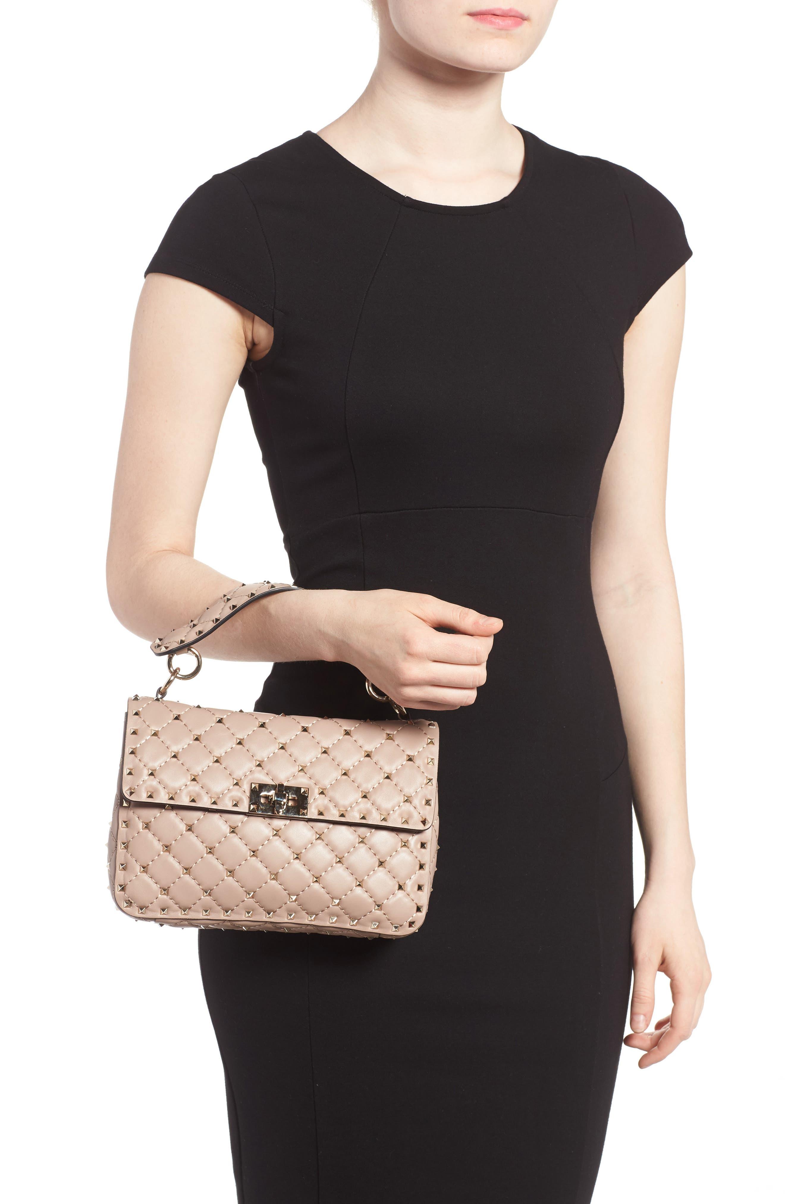 Alternate Image 2  - Valentino Medium Rockstud Spike Crossbody Bag