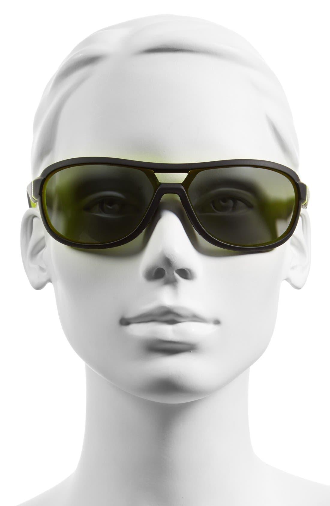 Alternate Image 2  - Nike 'Miler' 65mm Aviator Sunglasses