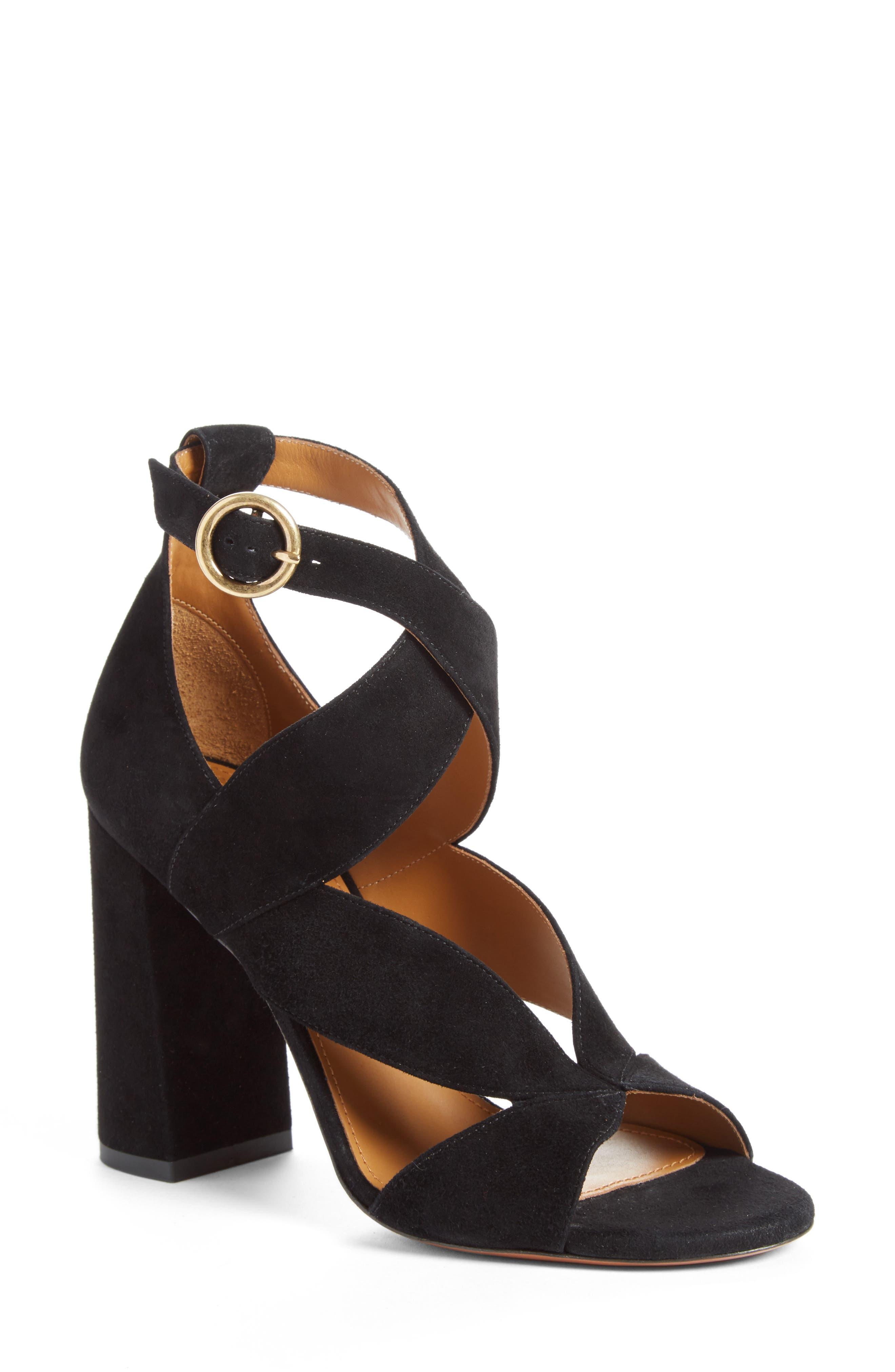 Chloé Graphic Leaves Sandal (Women)