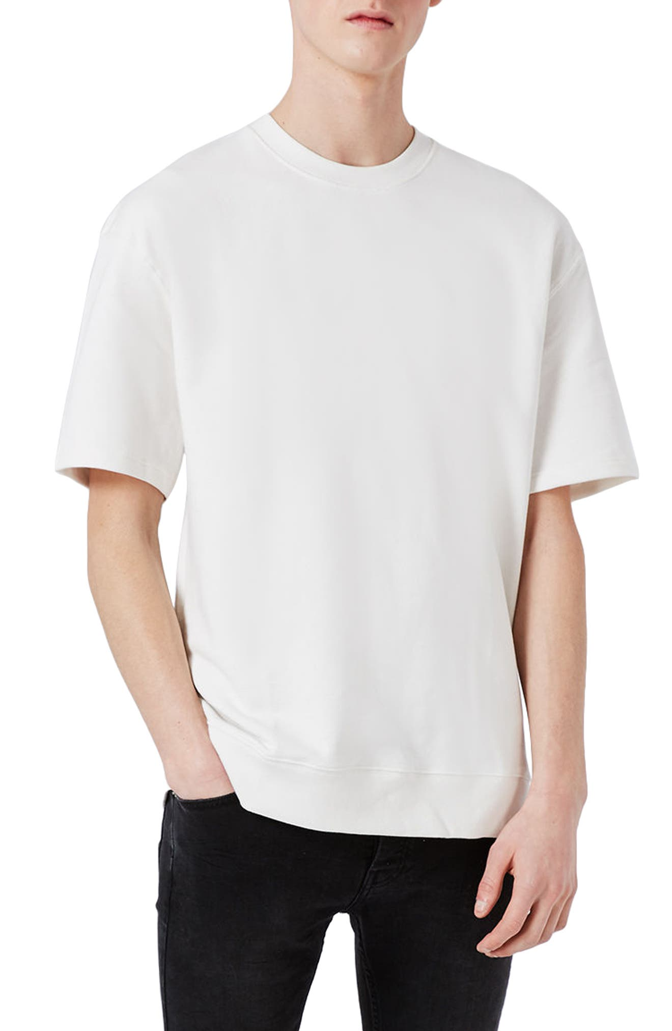 Topman A2 Solution Short Sleeve Sweatshirt