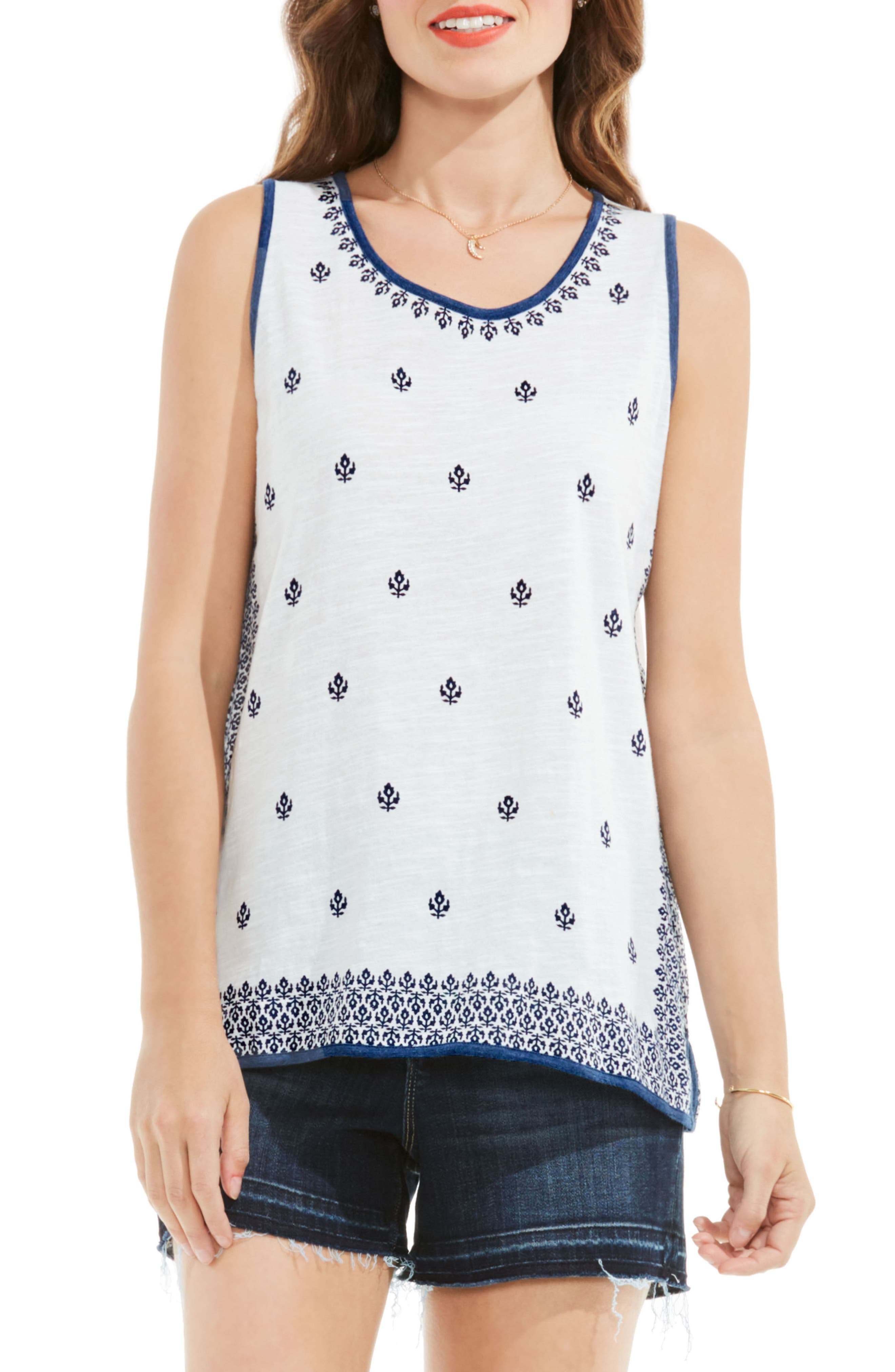 Two by Vince Camuto Cotton Tank