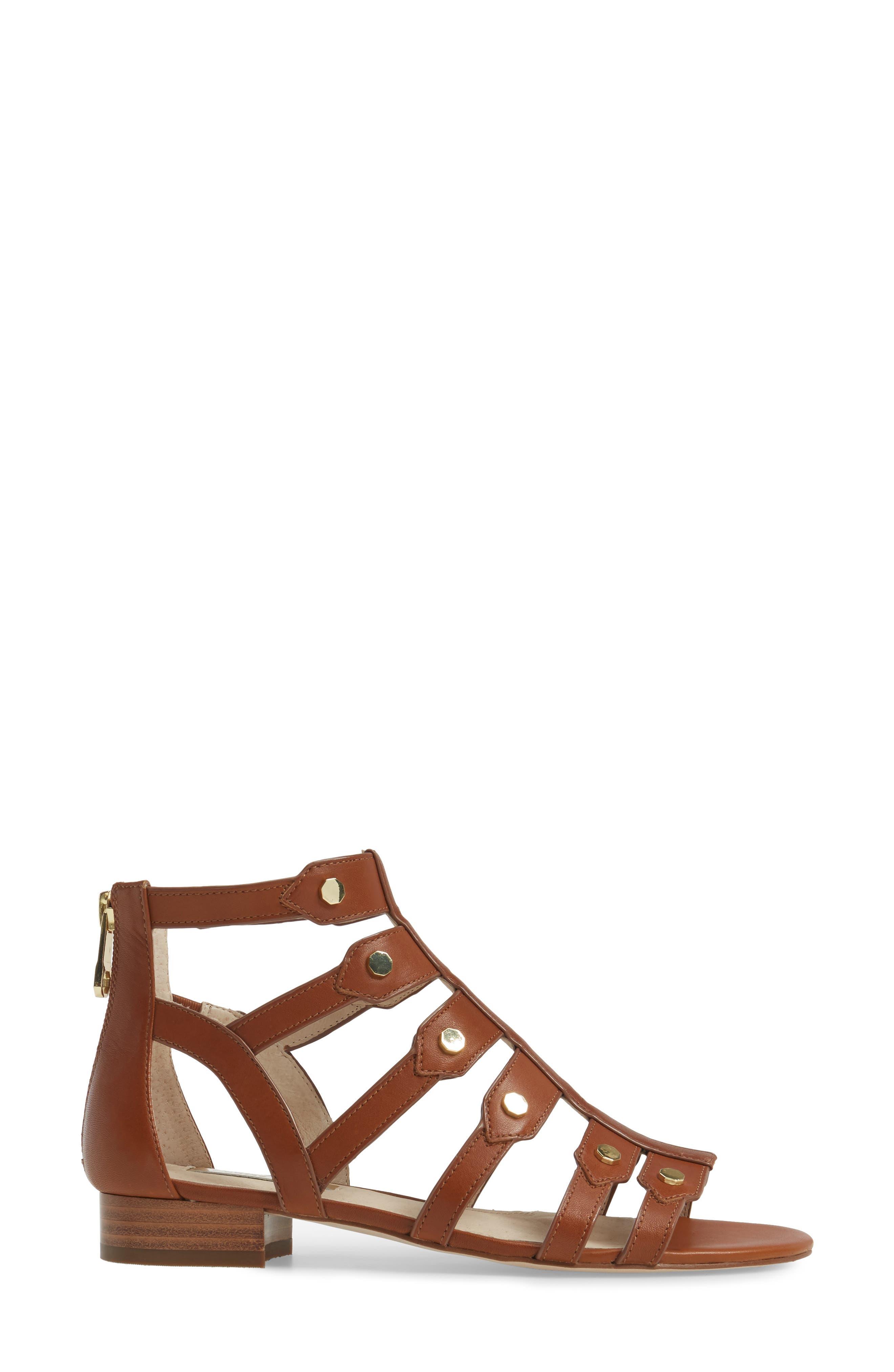 Alternate Image 3  - Louise et Cie Aria Studded Gladiator Sandal (Women)