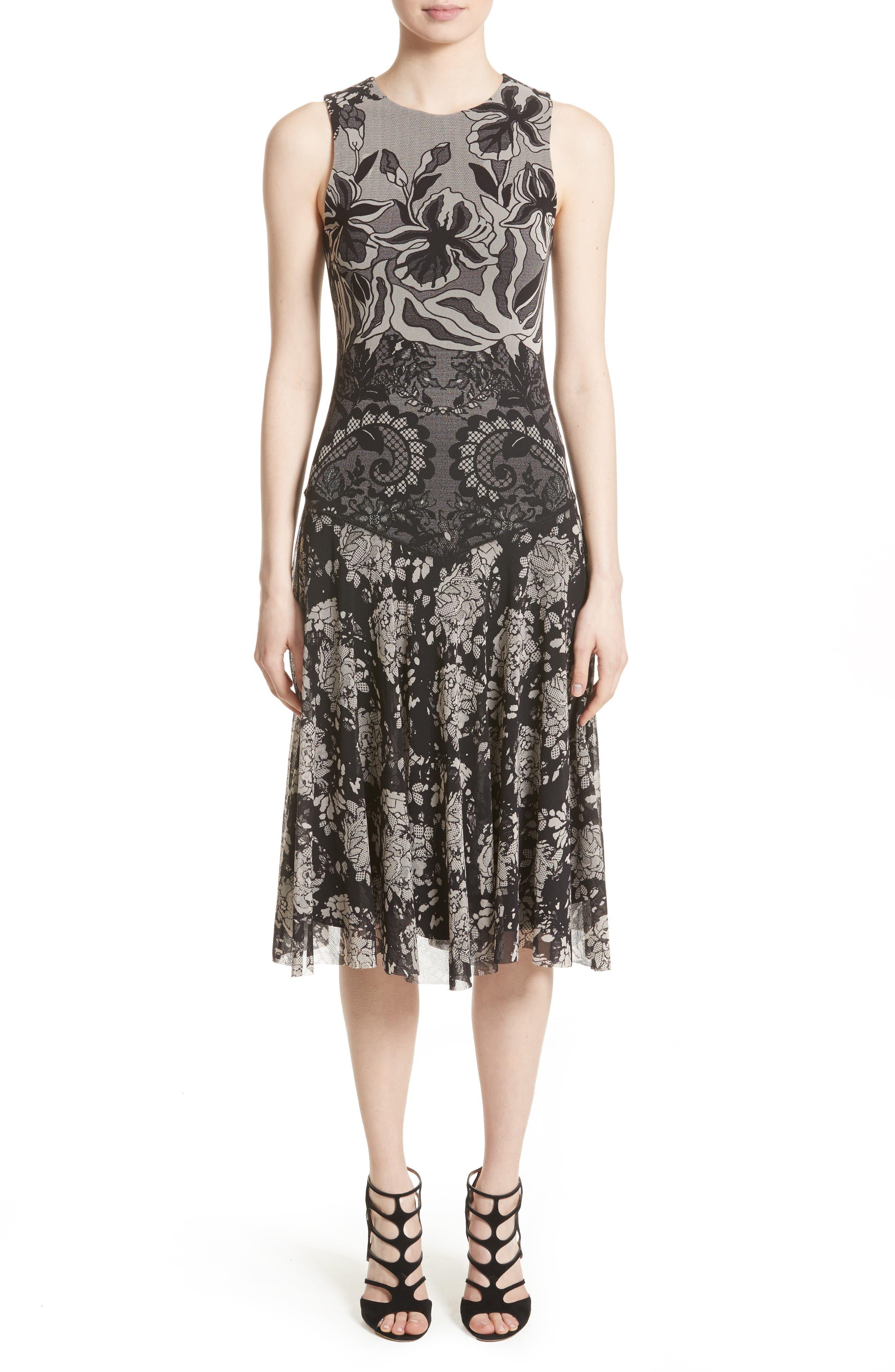 Fuzzi Tulle A-Line Dress