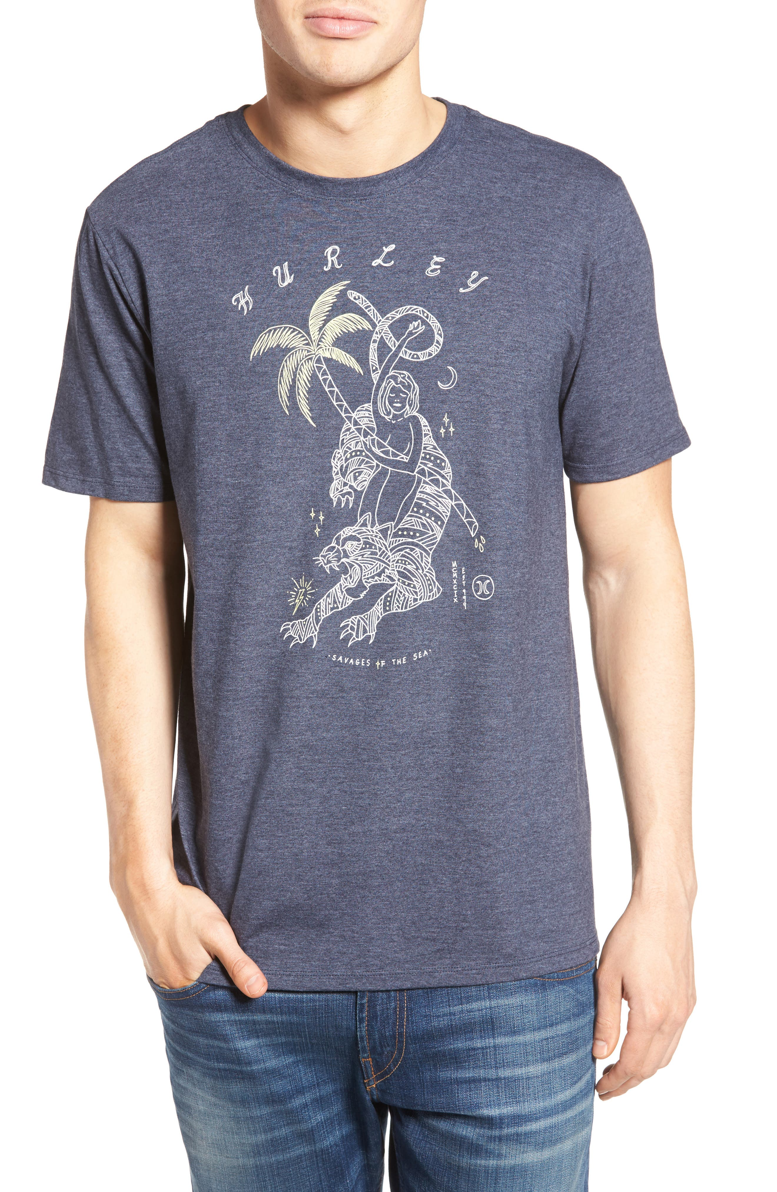 Hurley Nomad Graphic T-Shirt