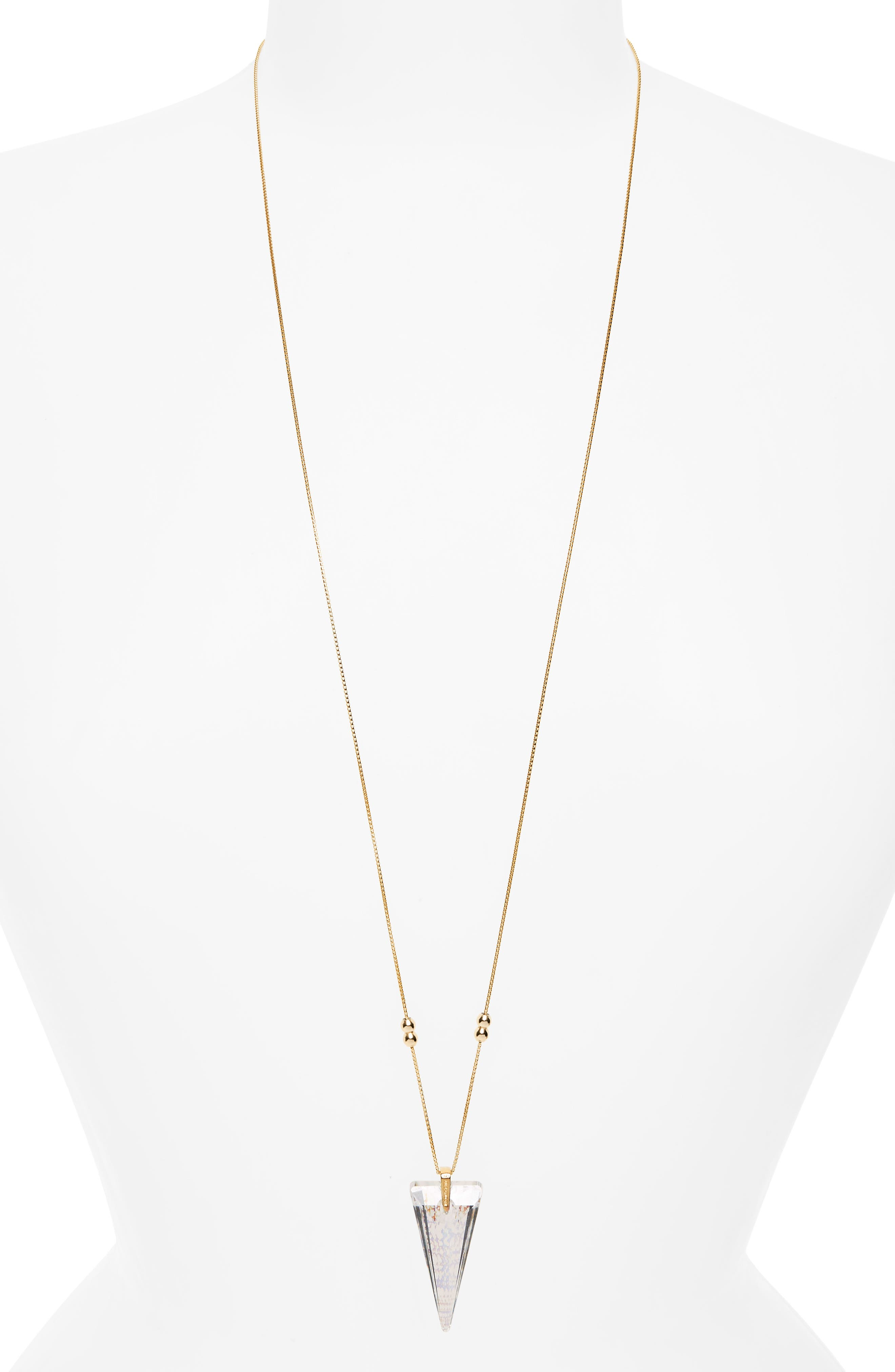 Alex and Ani Crystal Infusion Adjustable Pendant Necklace