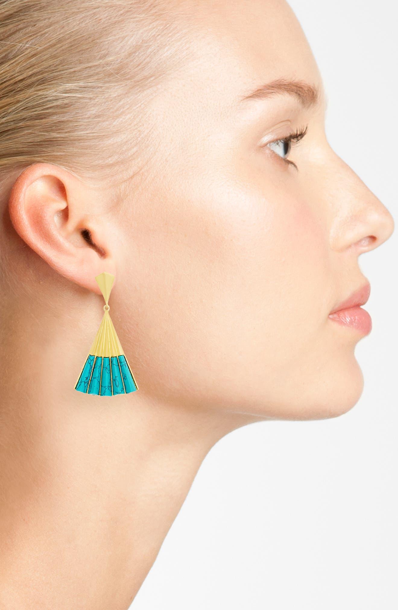 Alternate Image 2  - Dean Davidson Fan Earrings
