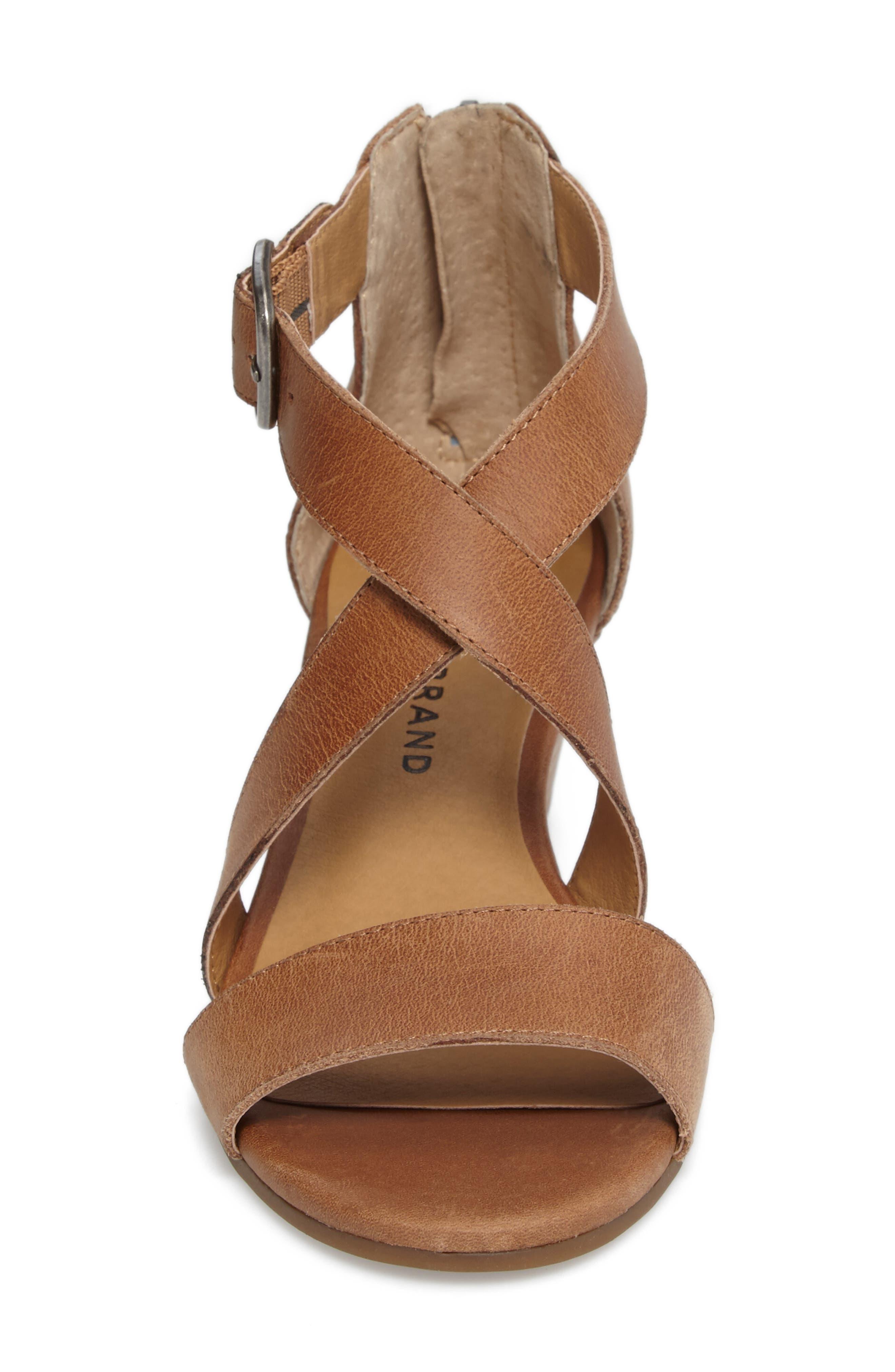 Alternate Image 4  - Lucky Brand Jenley Wedge Sandal (Women)
