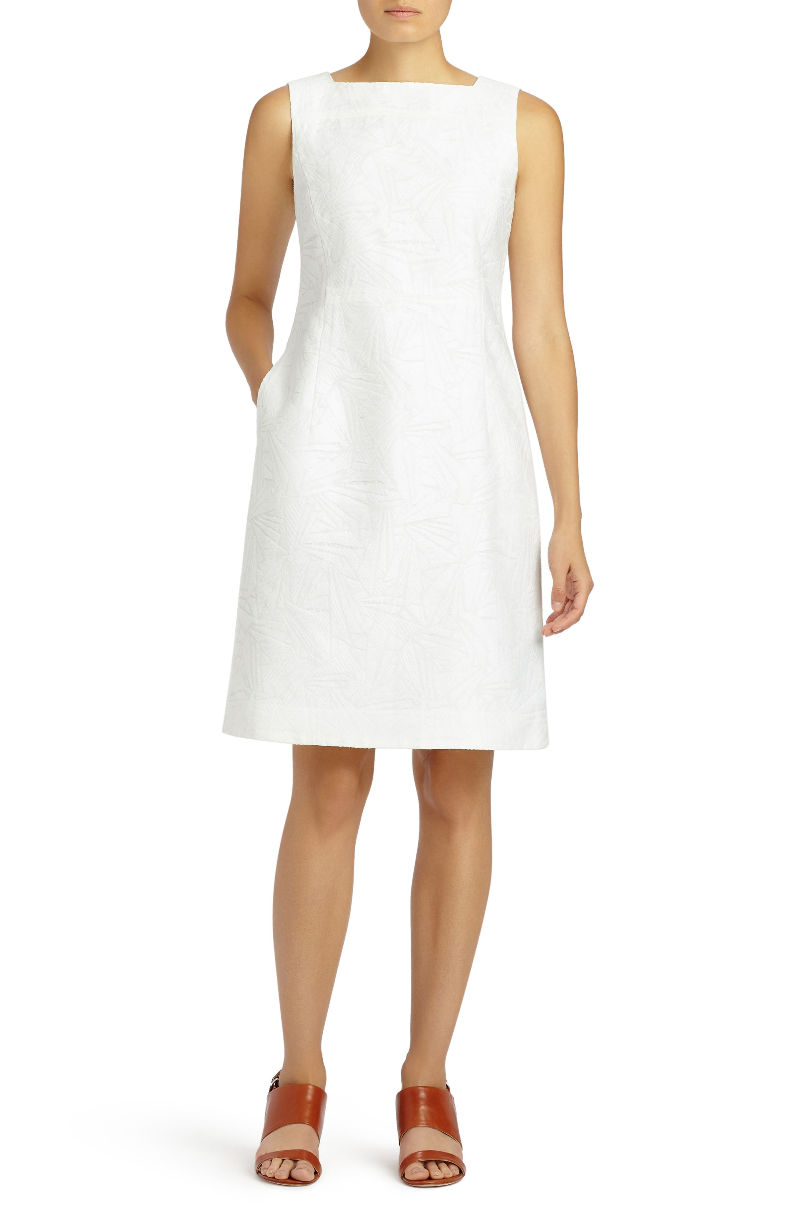 Lafayette 148 New York Jojo Fragmented Jacquard Dress