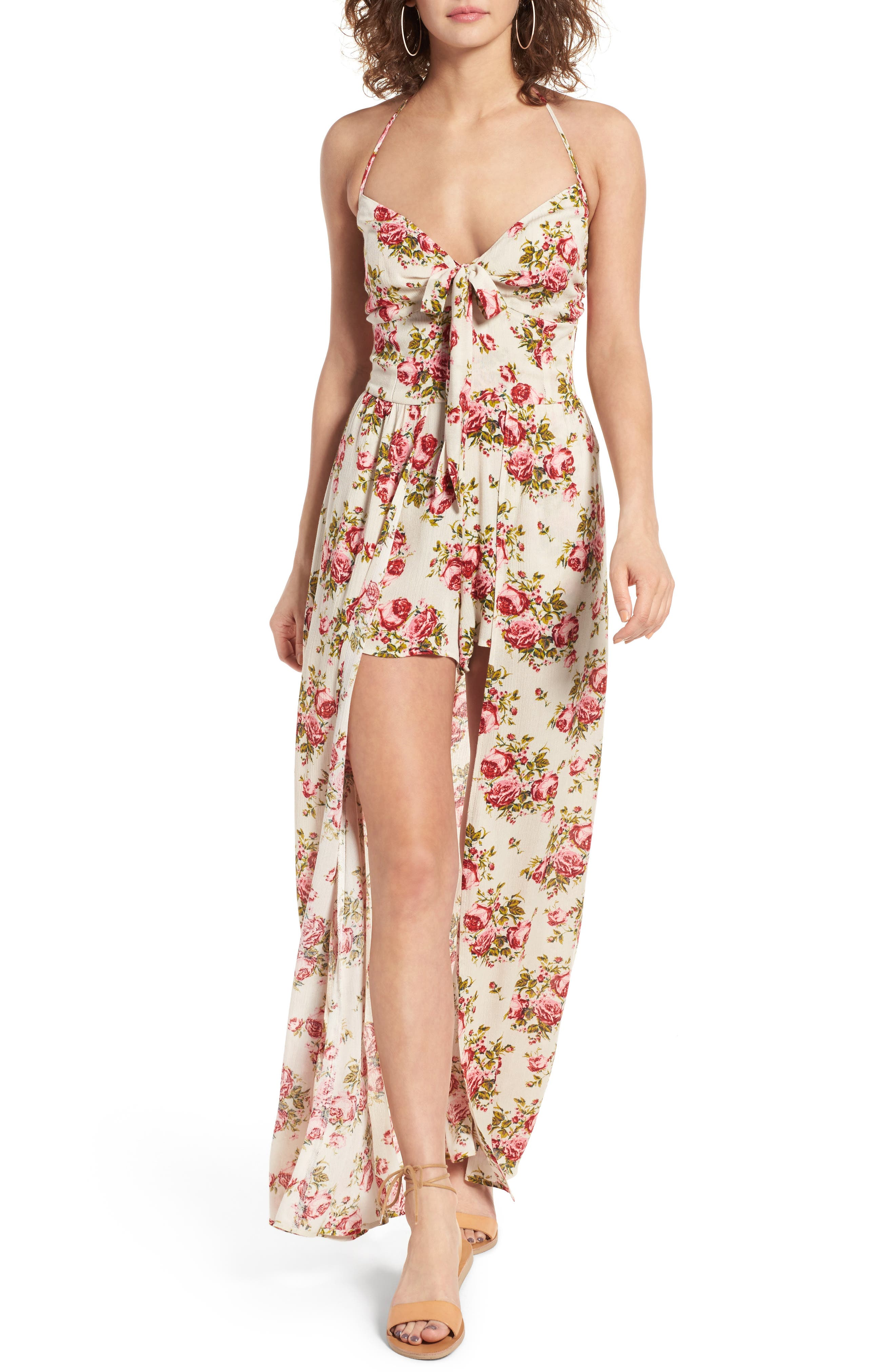 Alternate Image 1 Selected - Band of Gypsies Maxi Romper