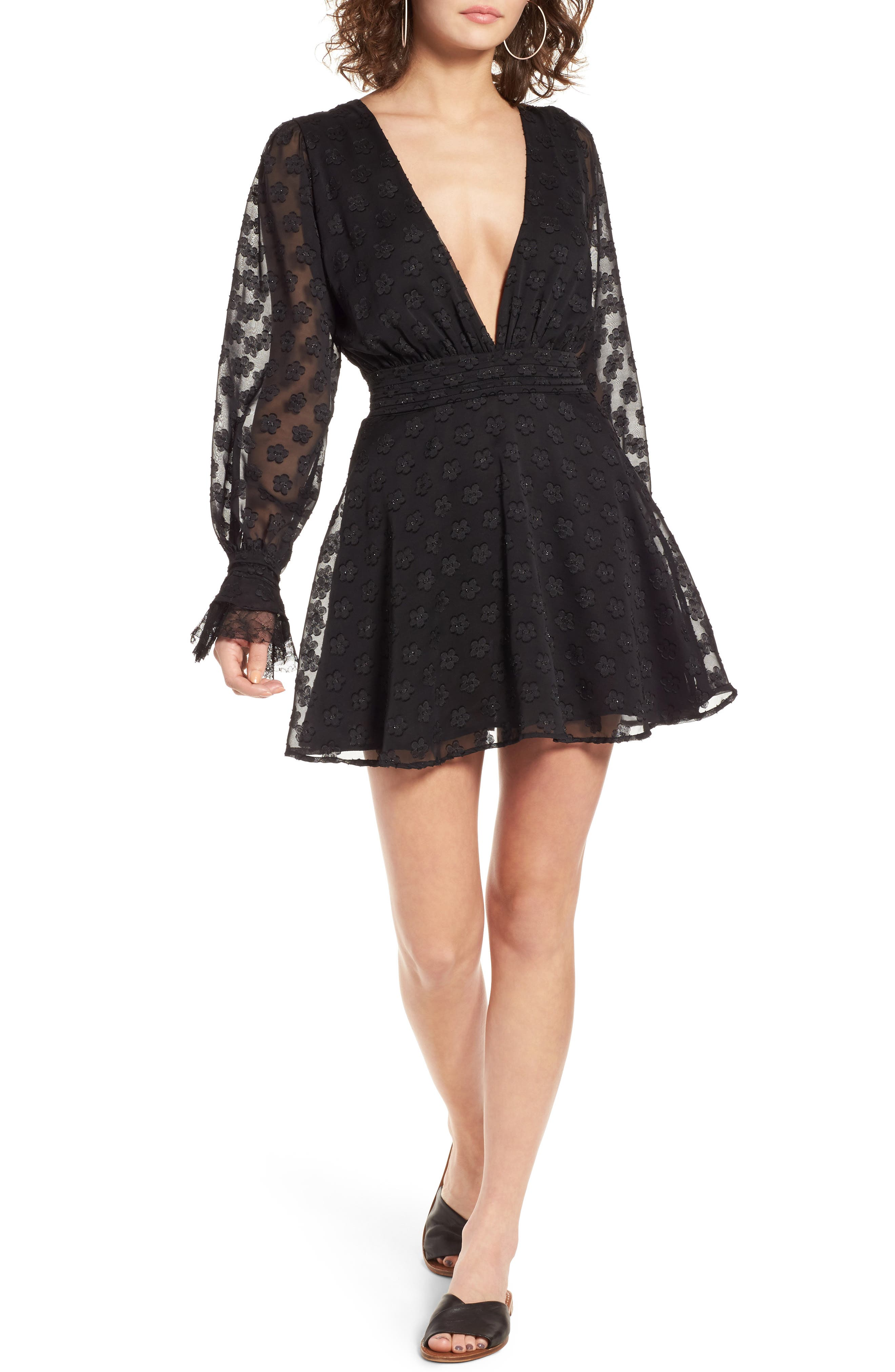 For Love & Lemons Modern Love Minidress