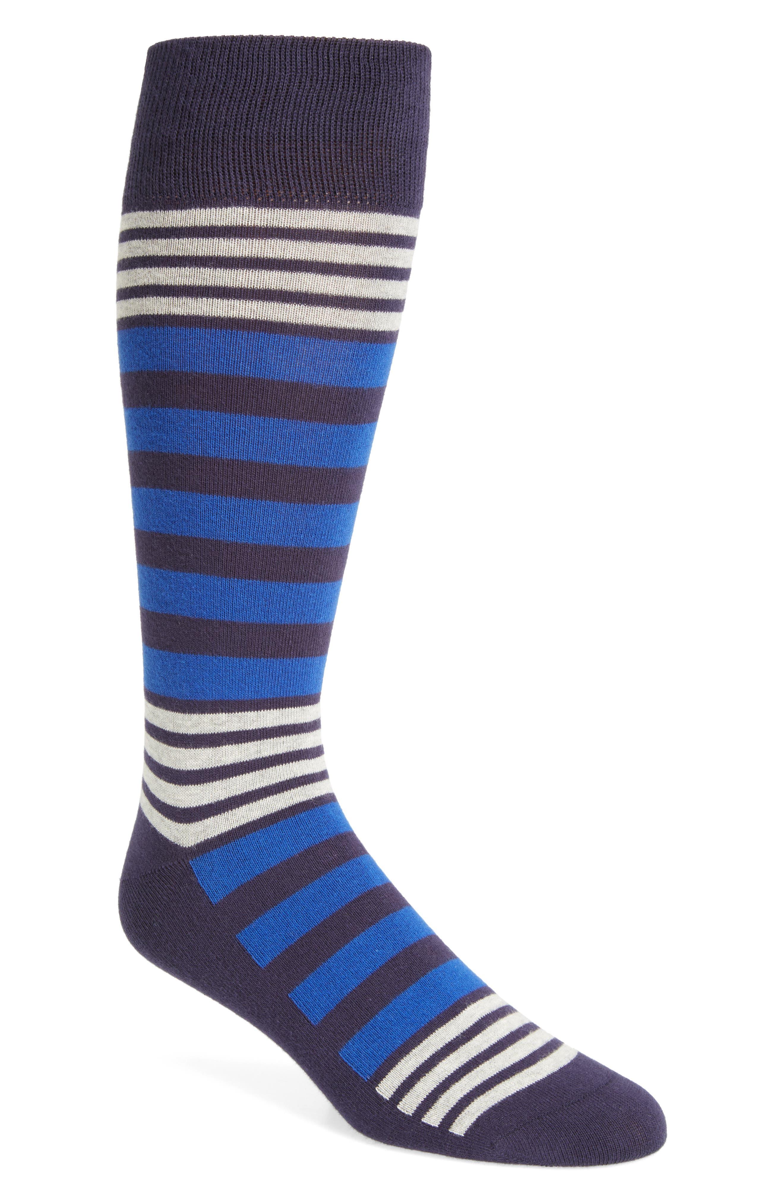 Calibrate Variegated Stripe Socks