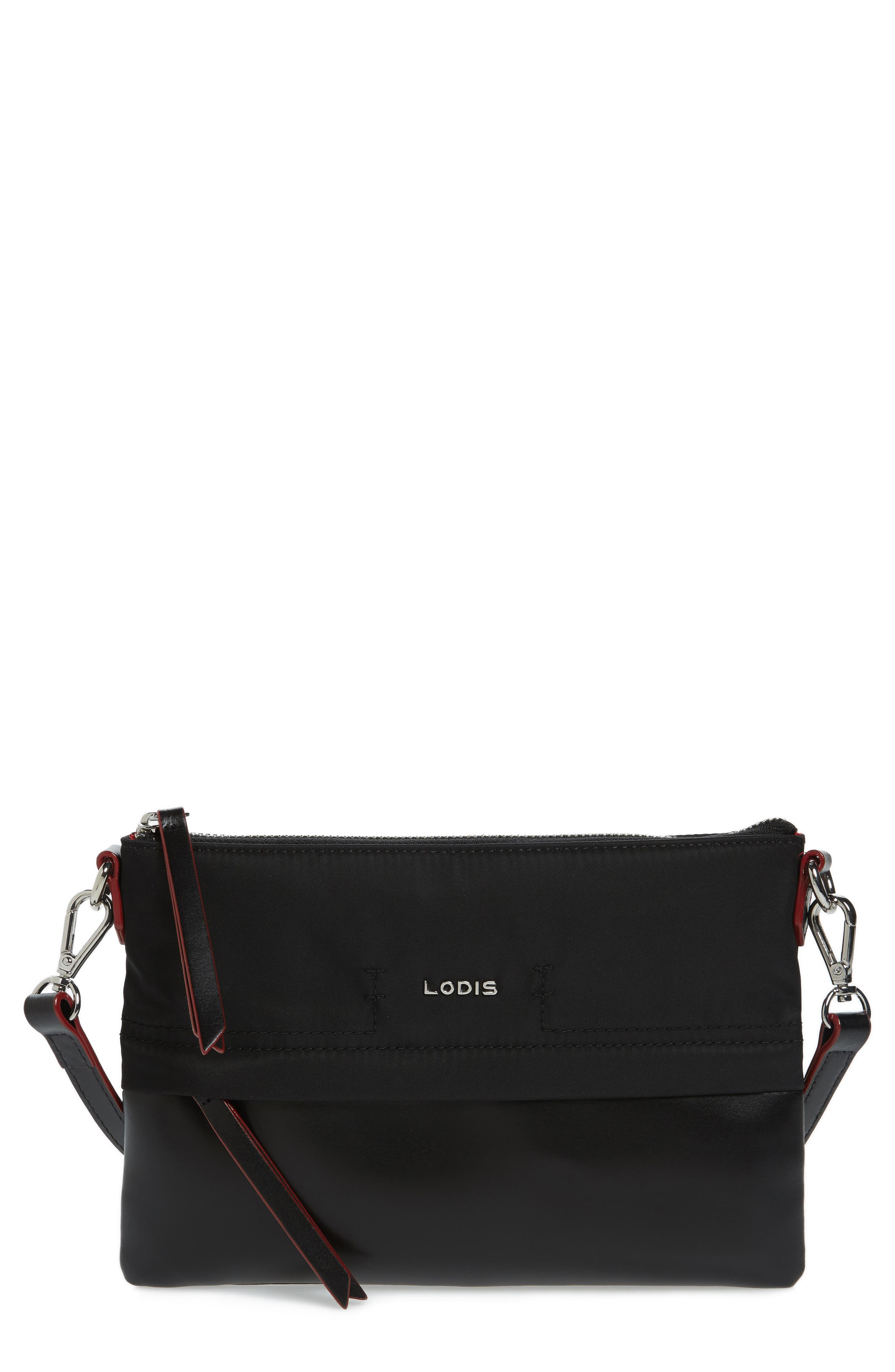 Lodis Kala Leather Convertible Crossbody Bag