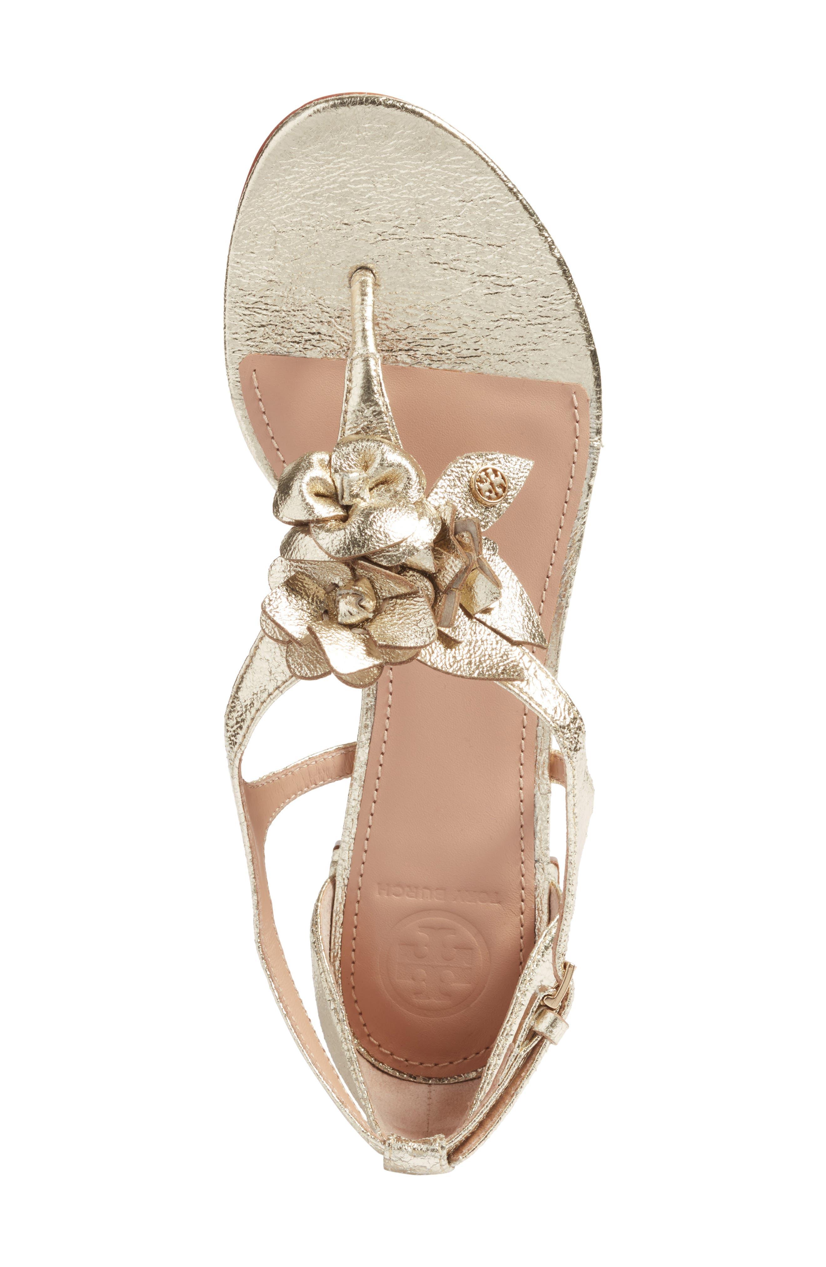 Alternate Image 5  - Tory Burch Blossom Sandal (Women)