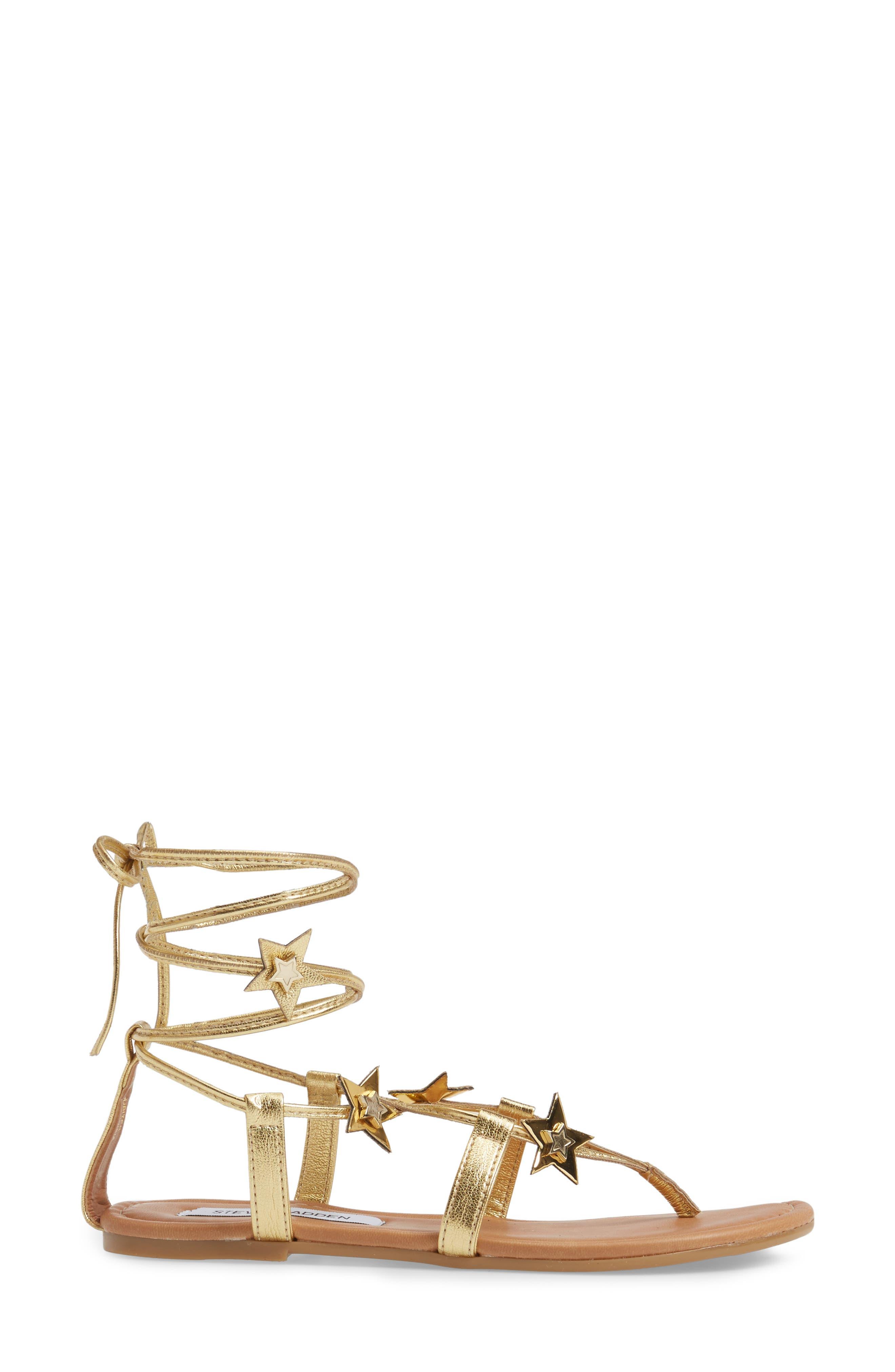 Alternate Image 3  - Steve Madden Jupiter Lace Up Sandal (Women)