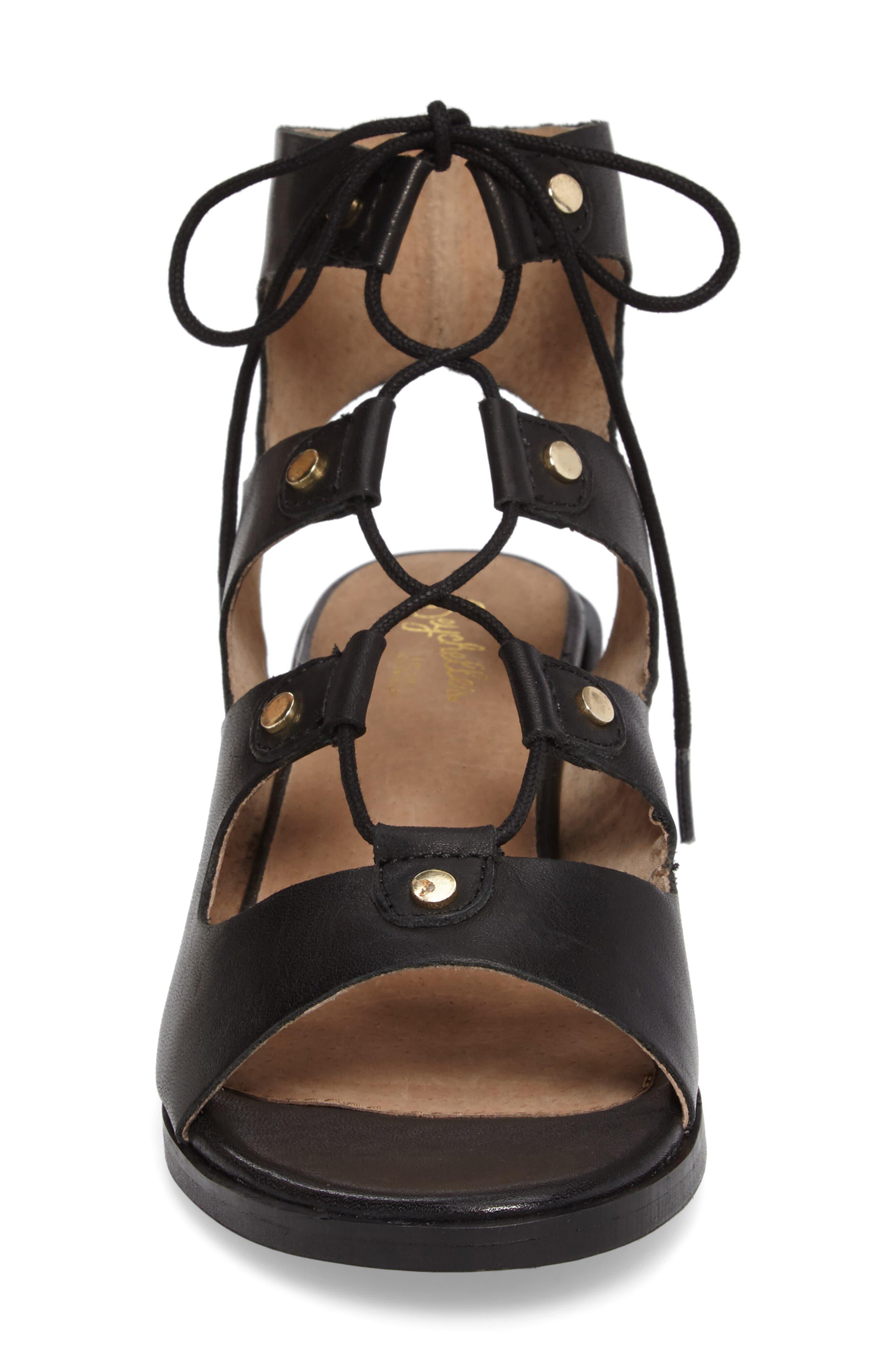 Alternate Image 4  - Seychelles Love Affair Lace-Up Sandal (Women)