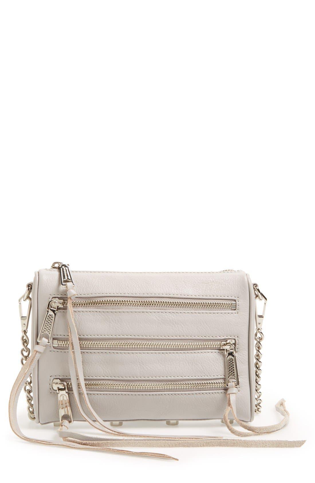Alternate Image 1 Selected - Rebecca Minkoff Mini 5 Zip Convertible Crossbody Bag