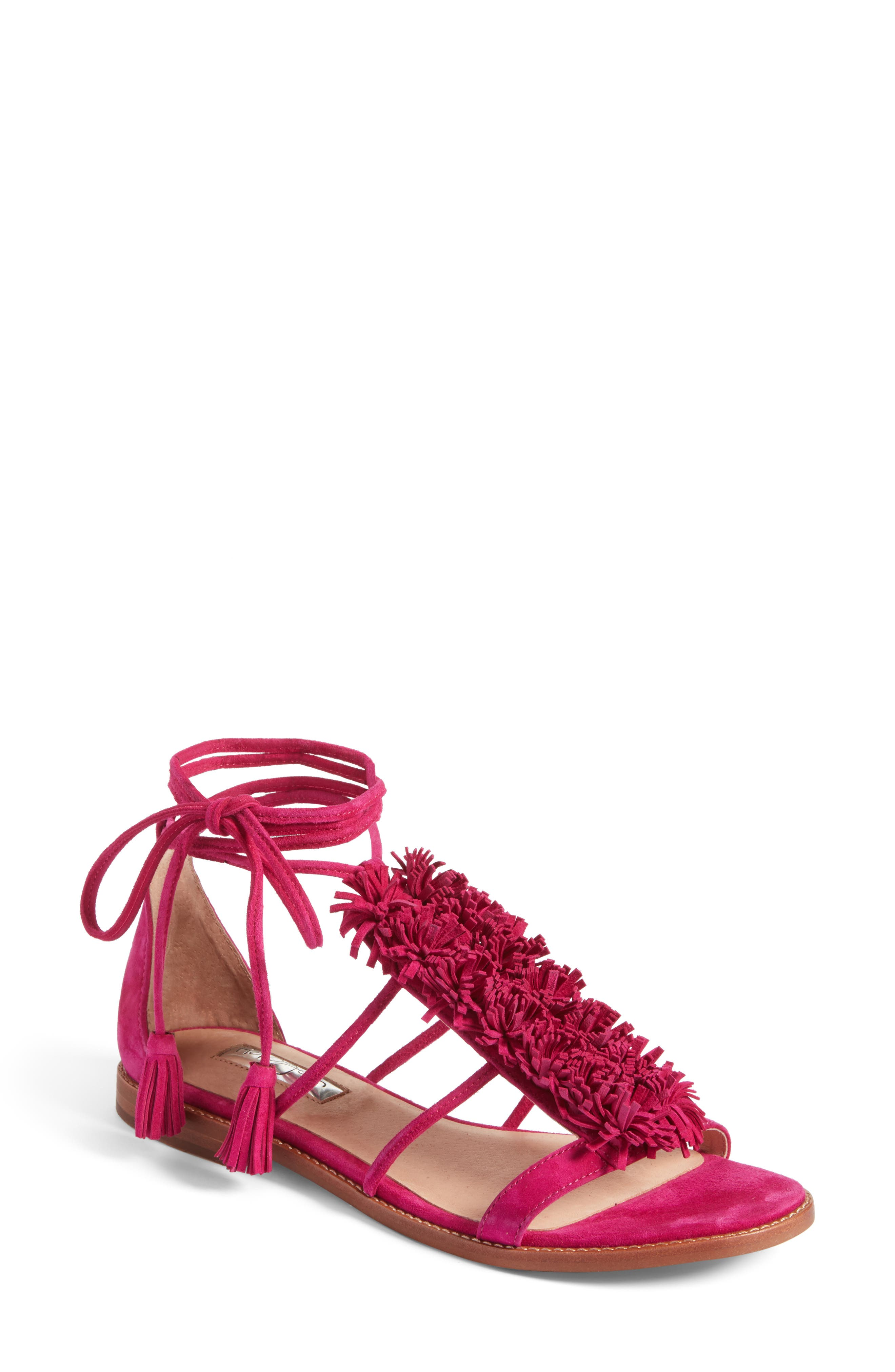 Main Image - Halogen® Eliza Flat Sandal (Women)