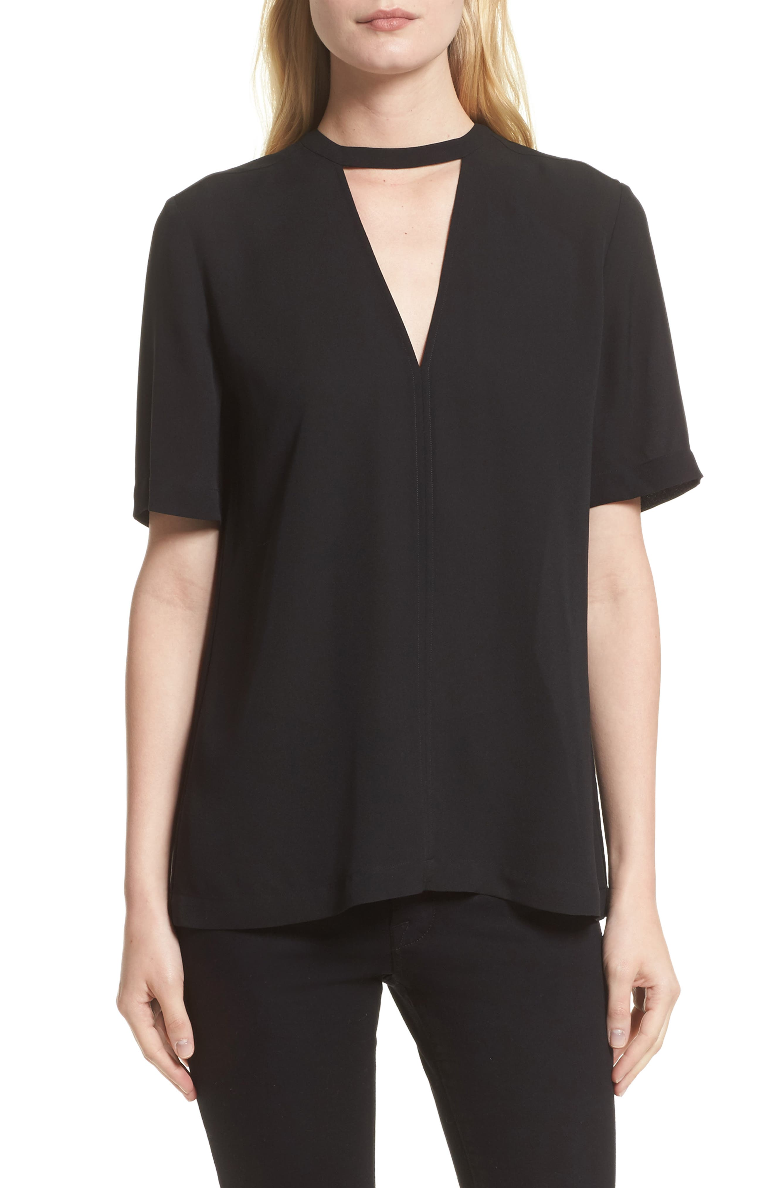 A.L.C. Kai Silk Top (Nordstrom Exclusive)