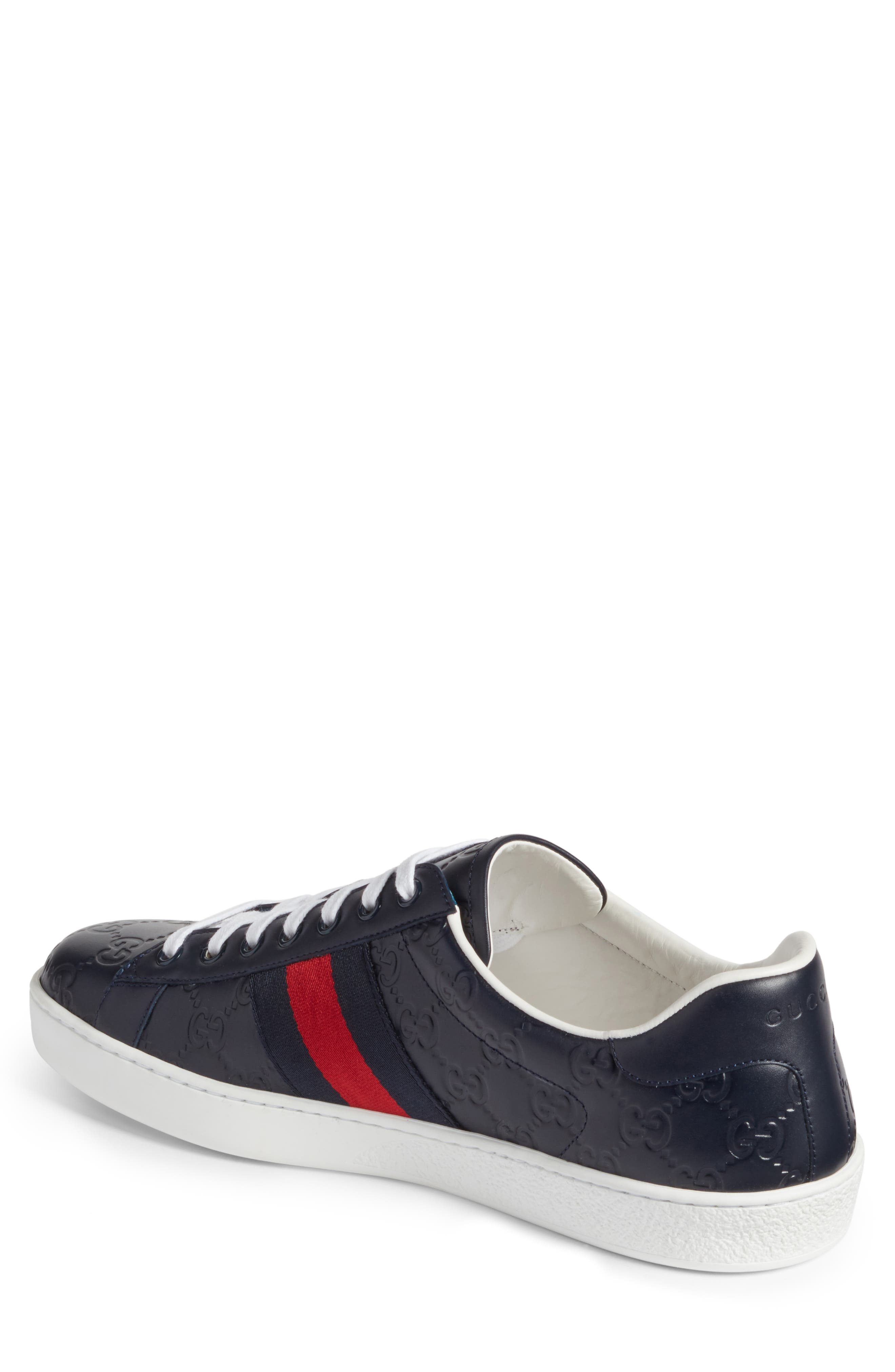 Alternate Image 2  - Gucci 'New Ace' Sneaker (Men)