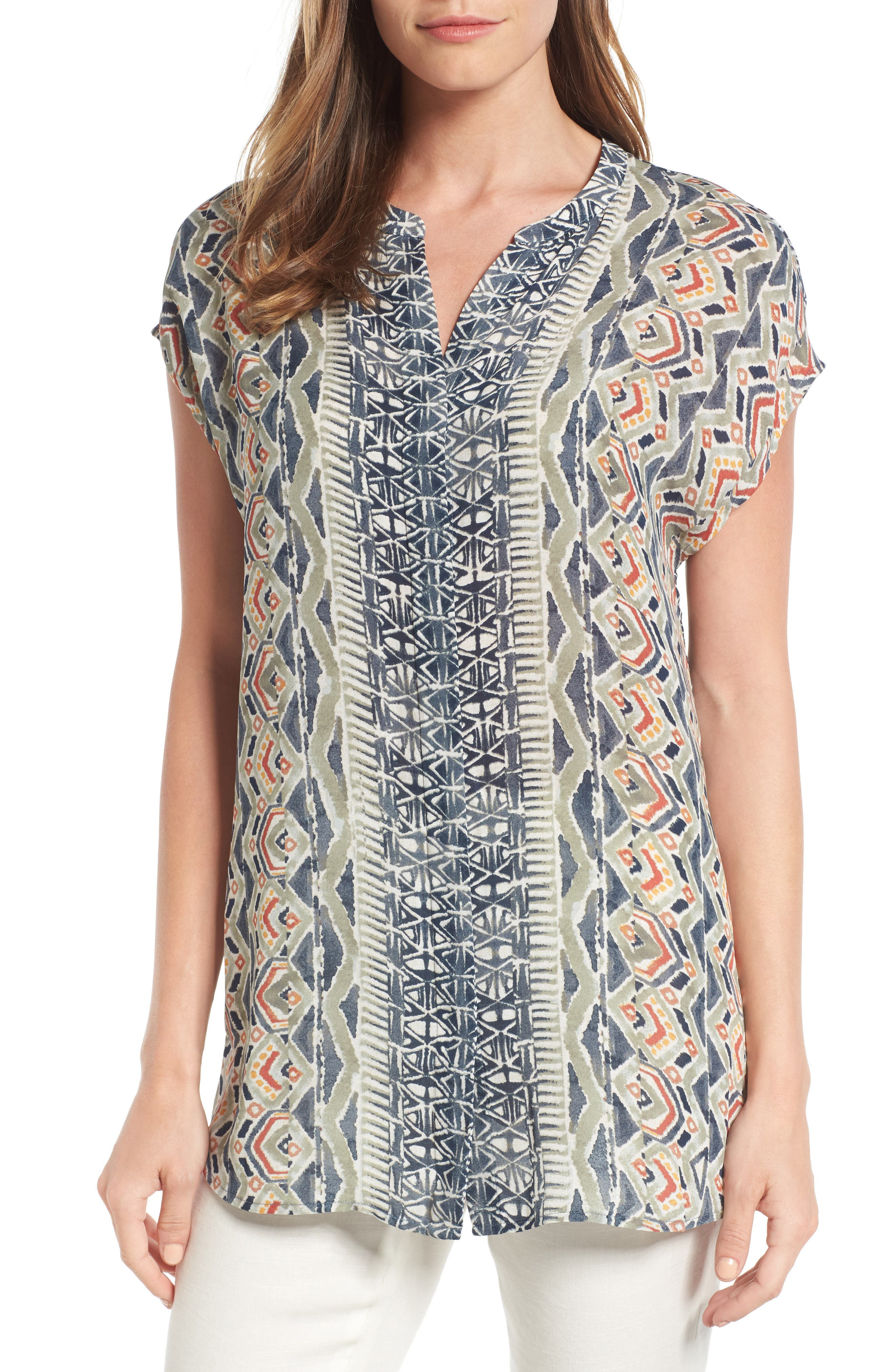 NIC+ZOE Surfside Woven Top (Regular & Petite)