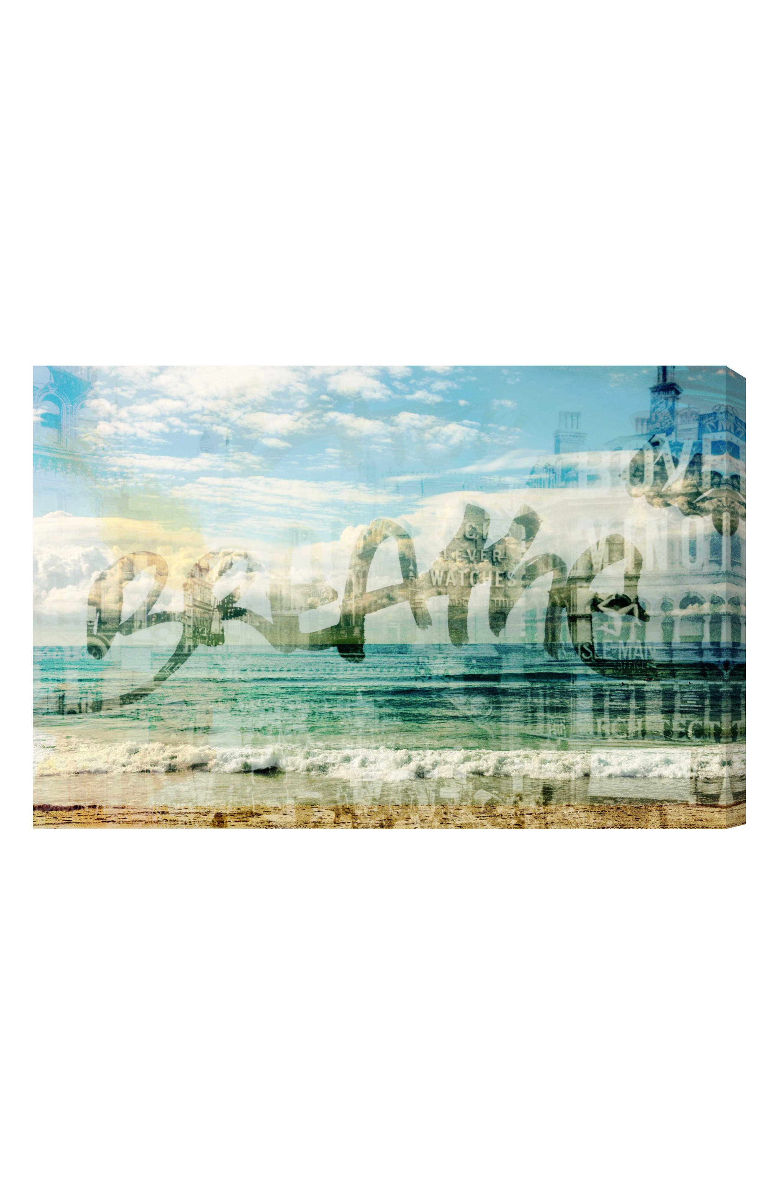 Oliver Gal Breathe Canvas Wall Art