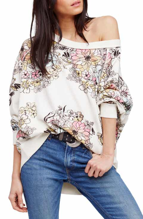 Go On Floral Pullover